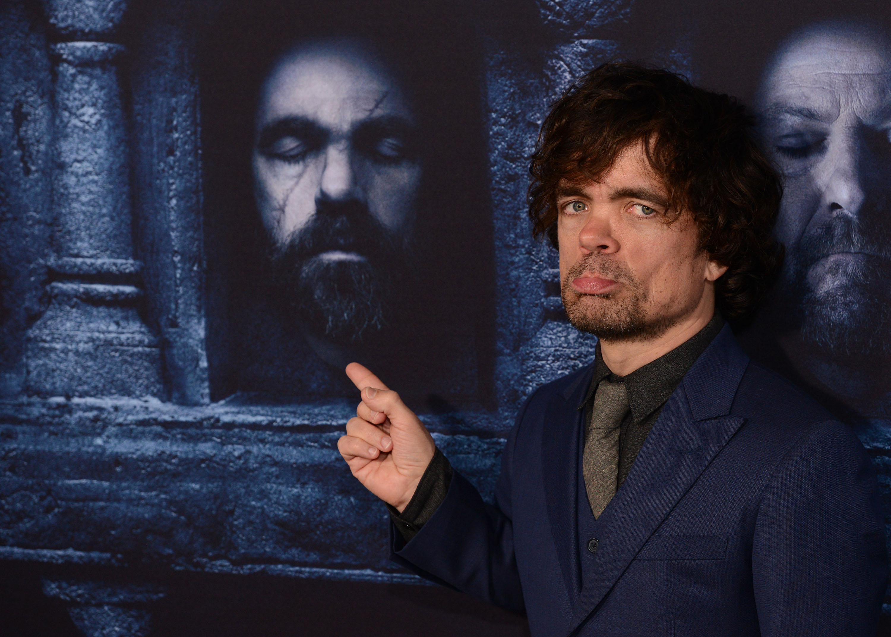 Actor Peter Dinklage arrives at the premiere of HBO's 'Game Of Thrones' Season 6 at TCL Chinese Theatre on April 10, 2016 in Hollywood, California.
