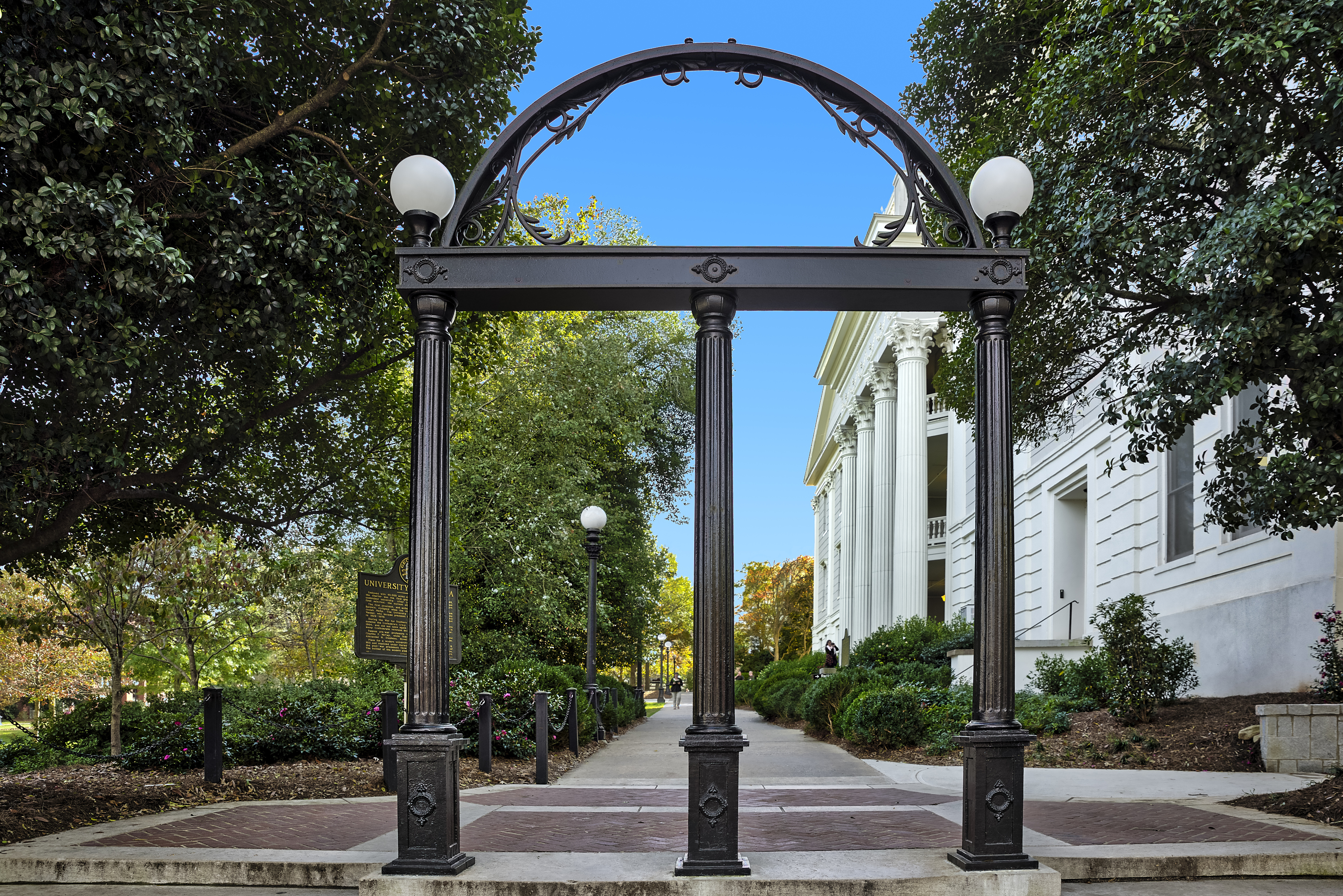 The Georgia Arch at the University of Georgia in Athens.