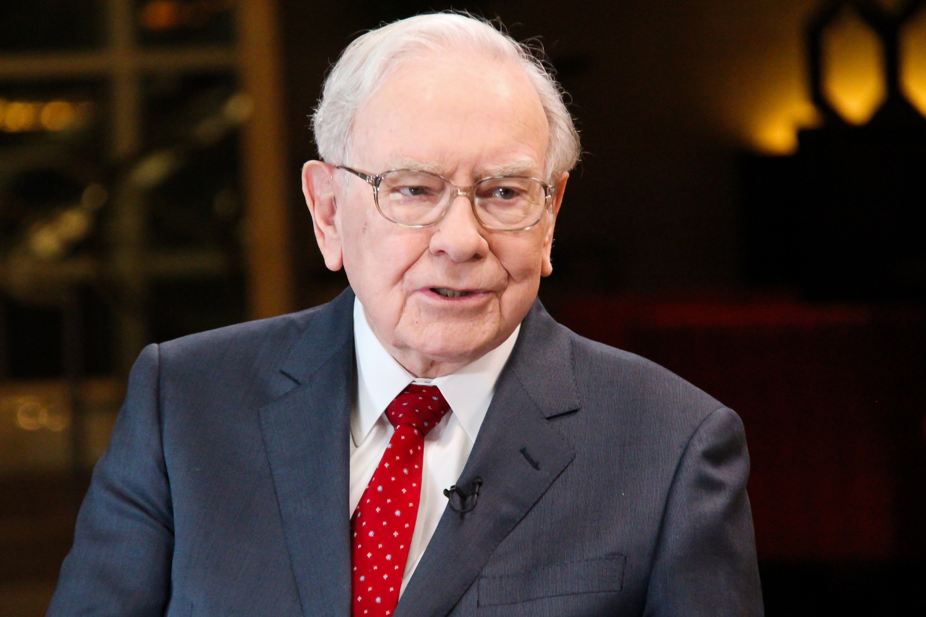 Warren Buffett, chairman and CEO of Berkshire Hathaway, and consistently ranked among the world's wealthiest people, in an interview with Squawk Box on Feb. 29, 2016.