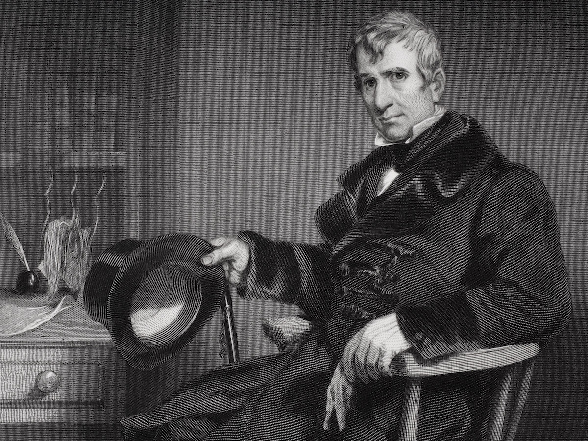 An illustration of William Henry Harrison, circa 1800