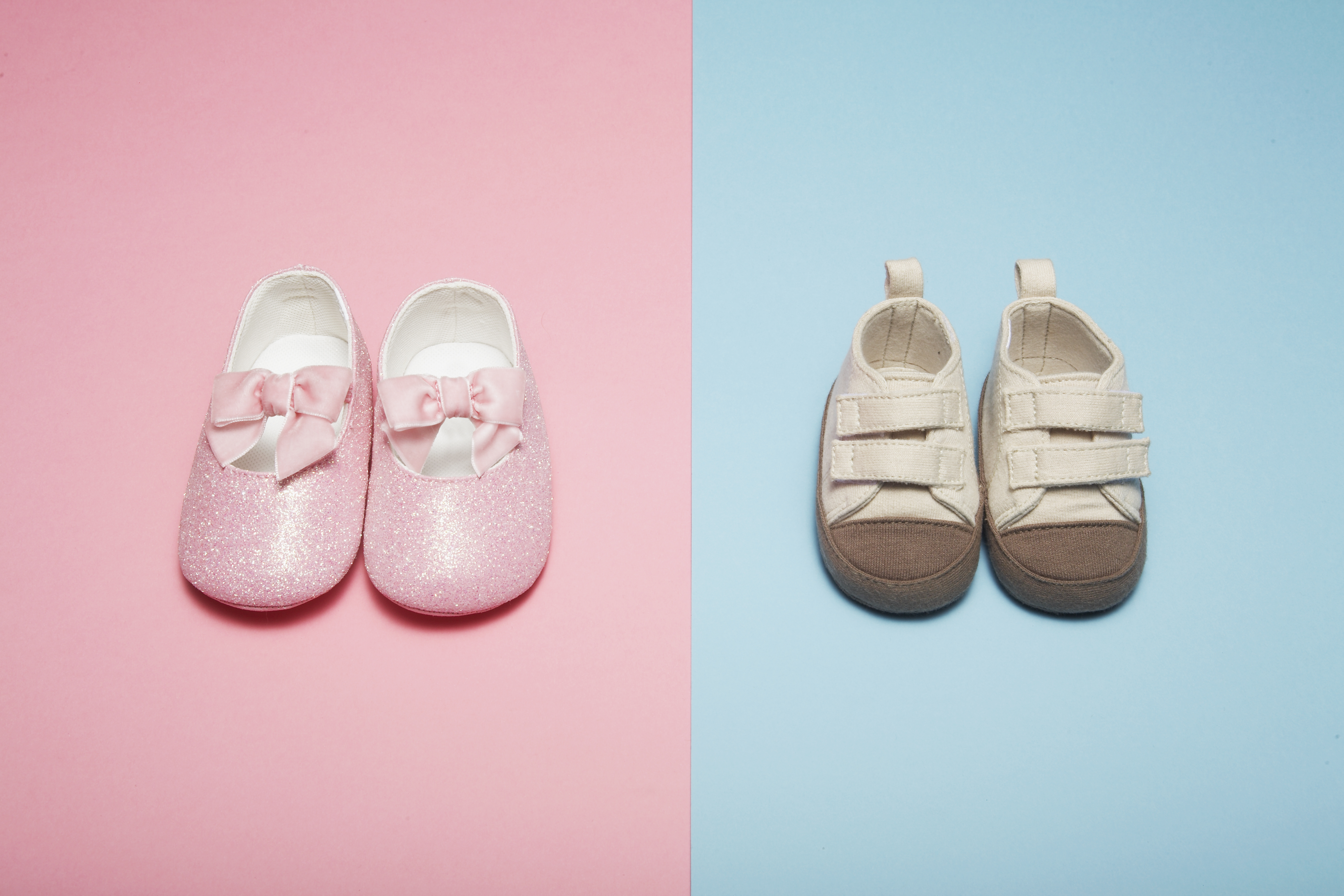 Two Pairs of Baby Shoes