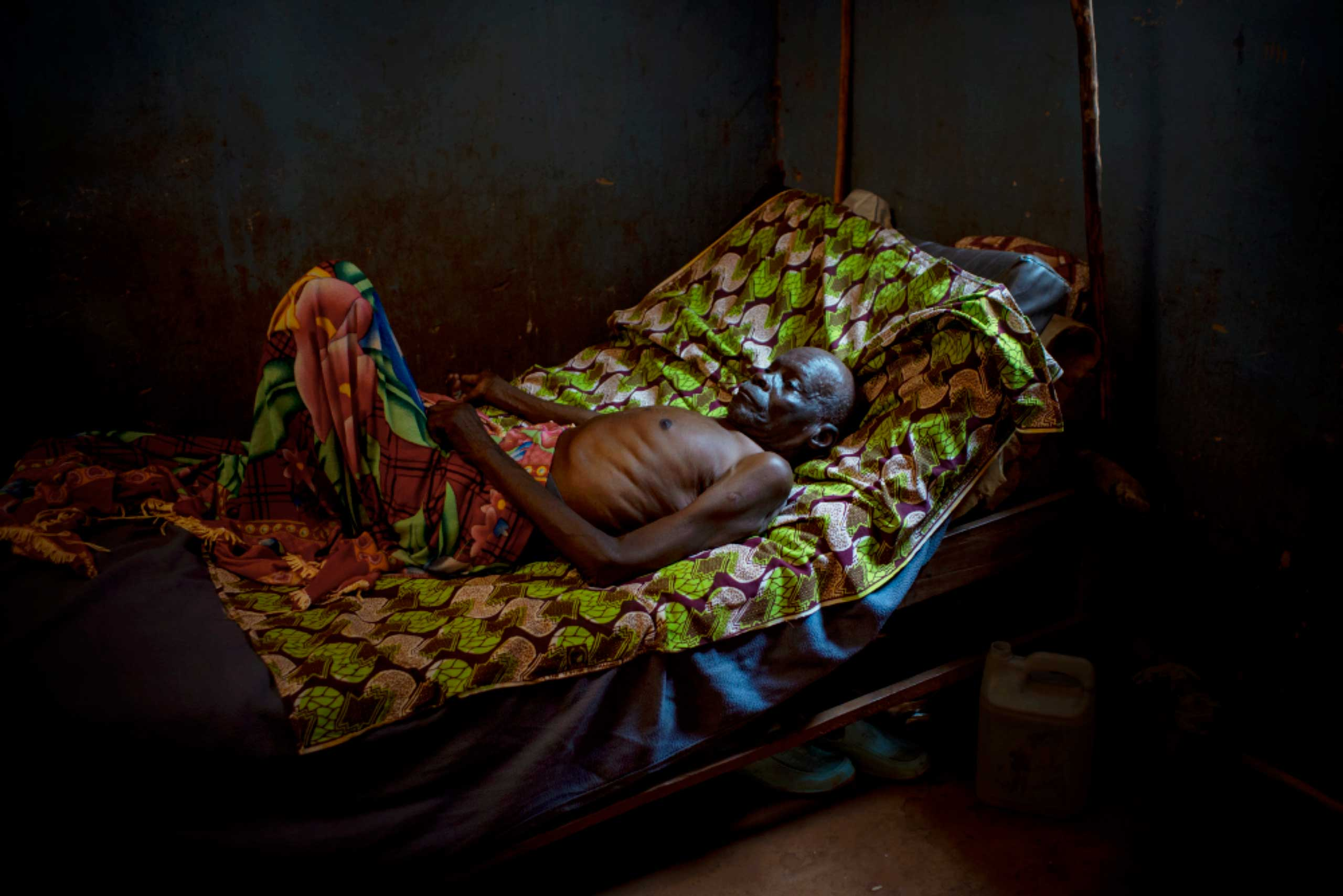 Daniel Guimiyessi was treated by a team of Medecins Sans Frontieres doctors for tuberculosis at a hospital in Zemio, Central African Republic, before being dispatched to a clinic ran by protestant missionaries. He developed pneumonia—the focus of his current treatment.