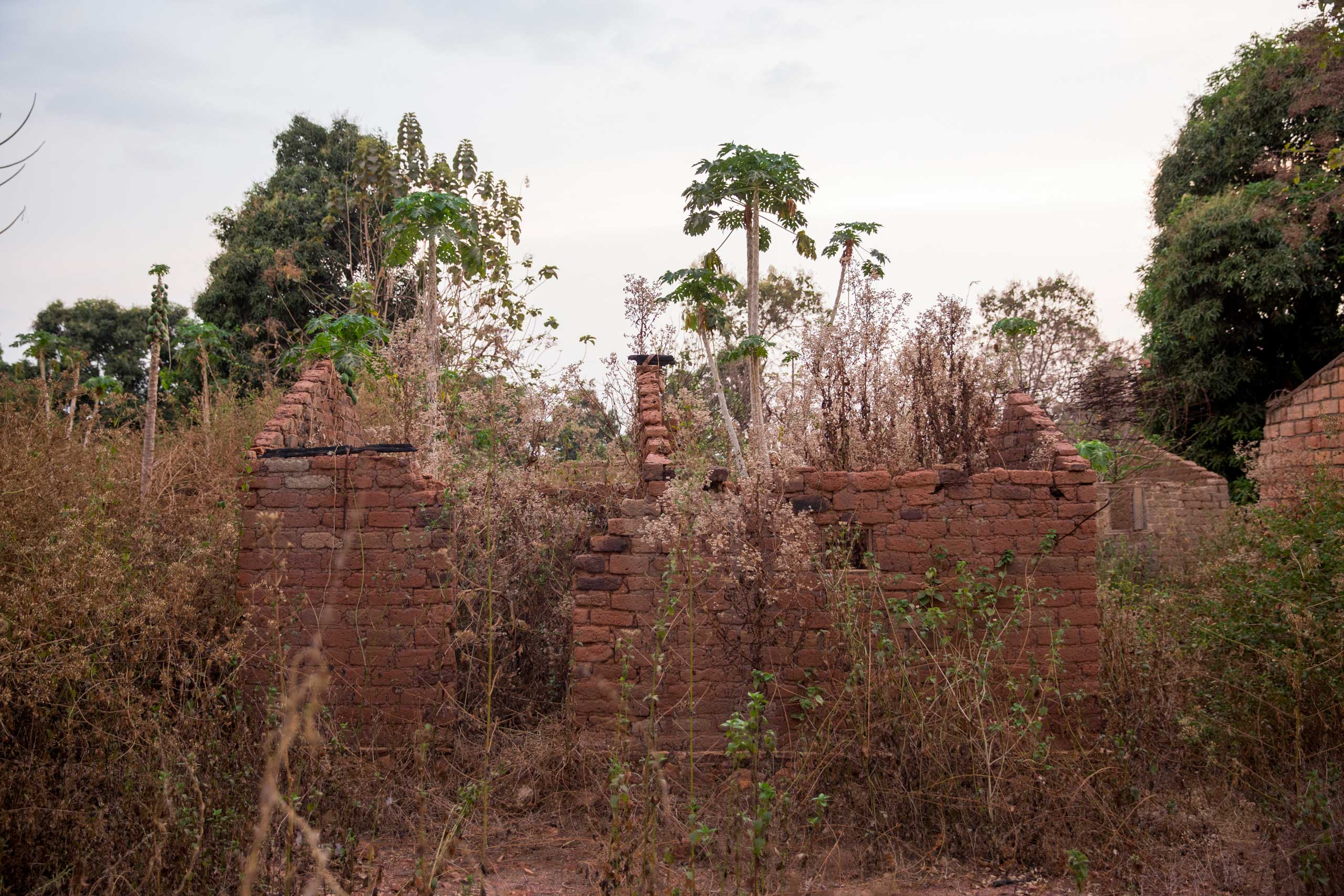 Around 500 houses belonging to Christians were burnt and abandoned in Bambari, Central African Republic, during two years of violence.