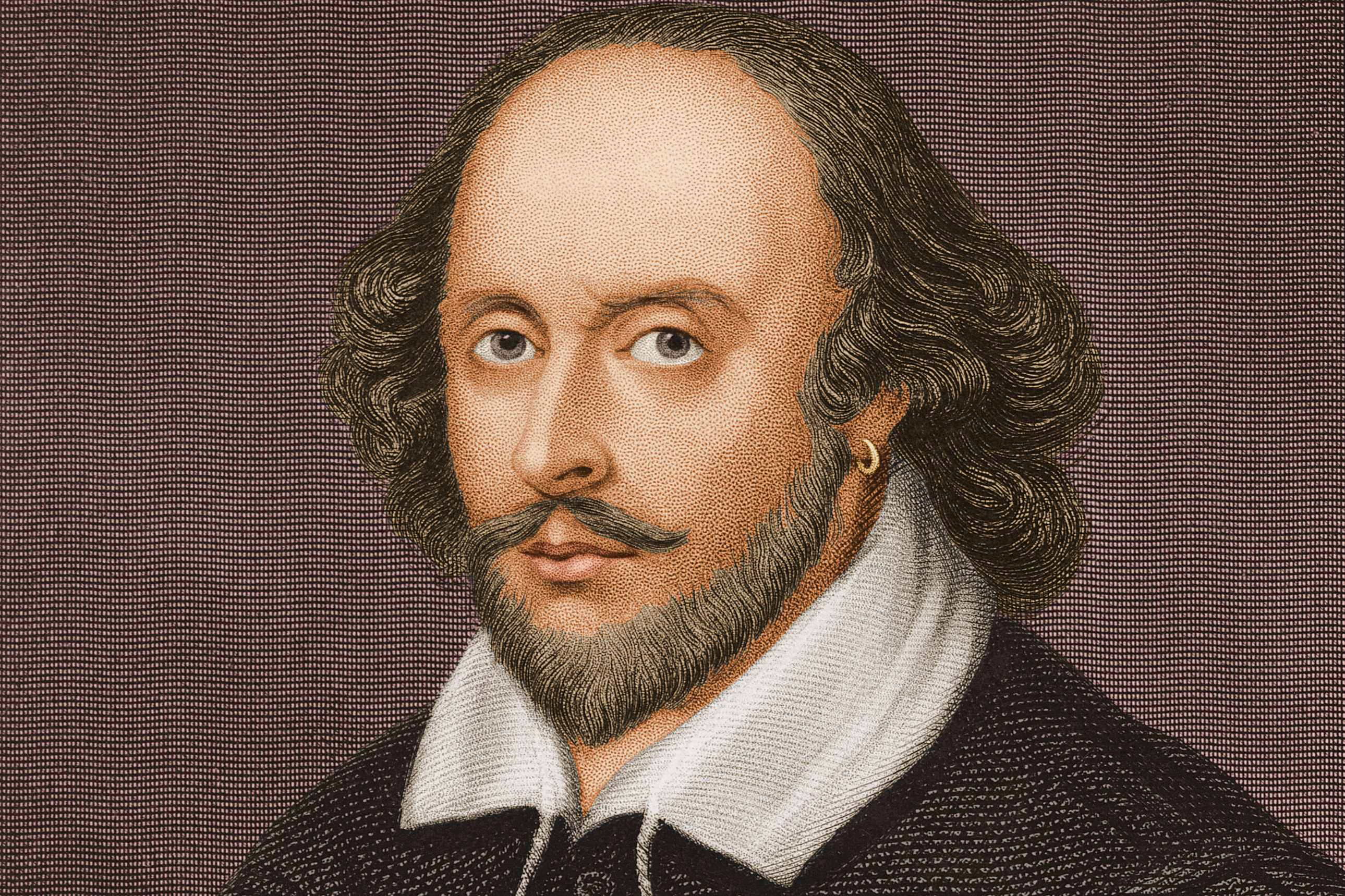 English playwright and poet William Shakespeare.