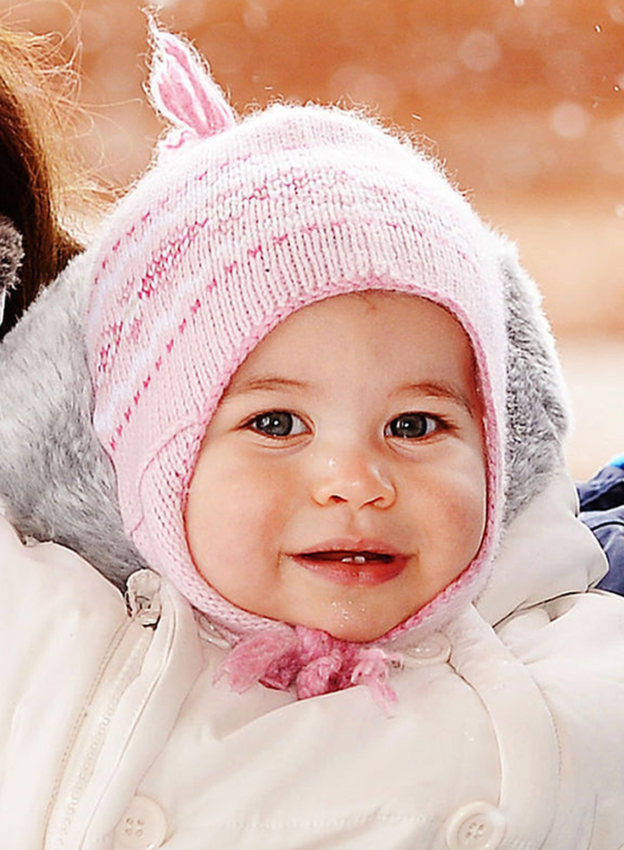 Princess Charlotte during short private break skiing in the French Alps on March 3, 2016.
