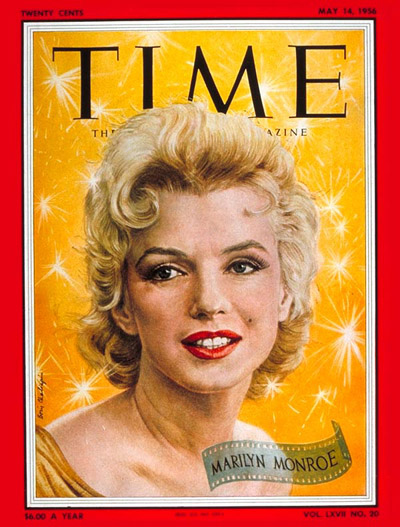 The May 14, 1956, cover of TIME