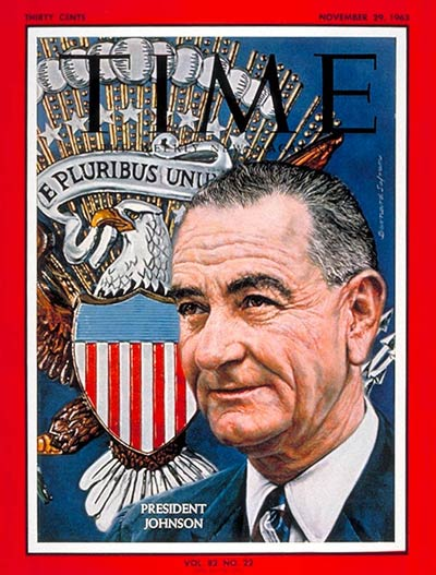 The Nov. 29, 1963, cover of TIME