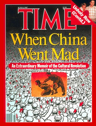 The  June 8, 1987, cover of TIME