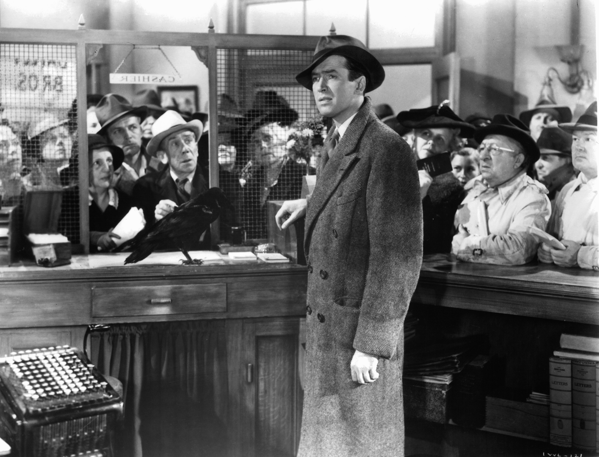 James Stewart plays George Bailey in 'It's A Wonderful Life.' RKO Radio Picture—Getty Images.