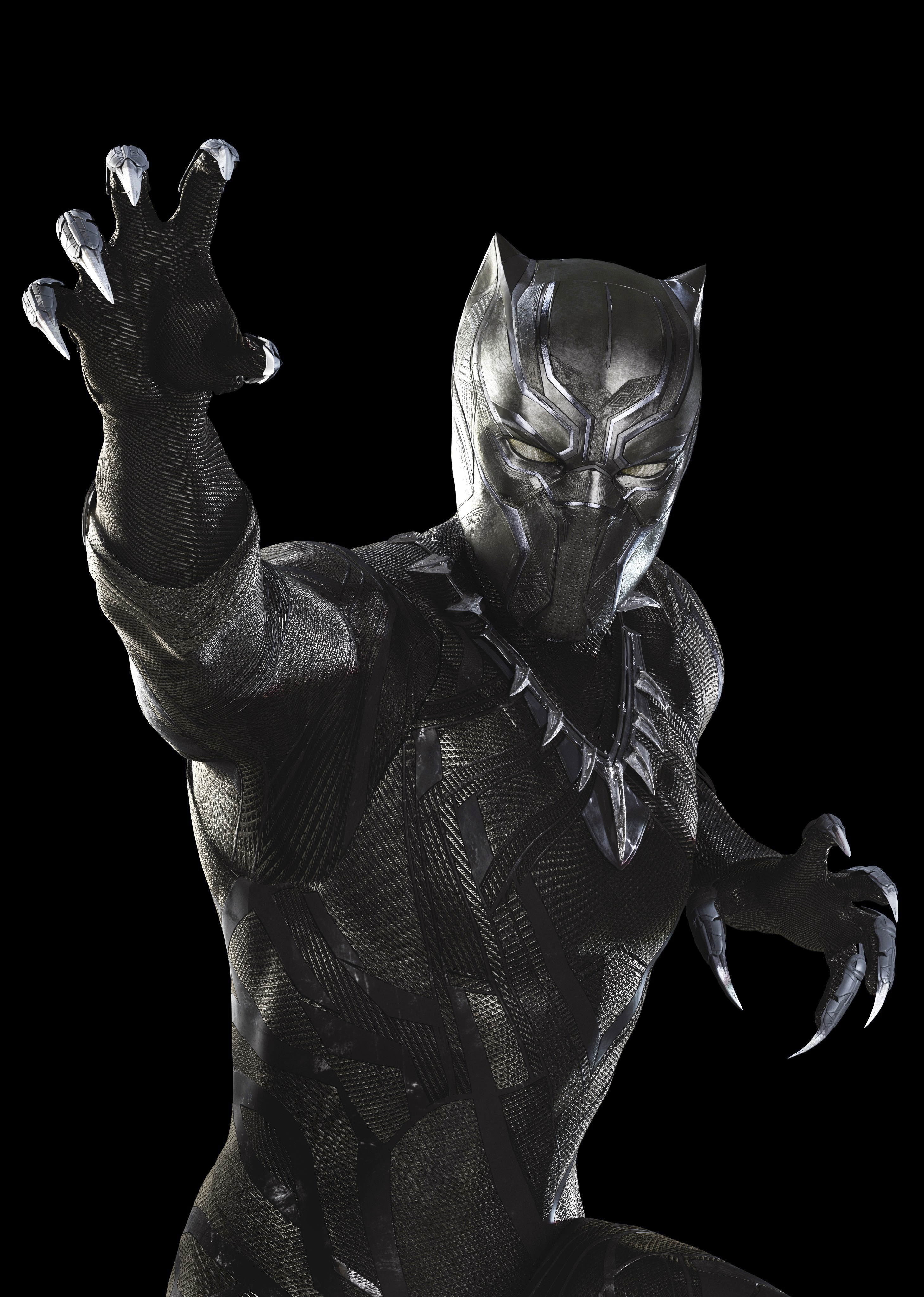 Chadwick Boseman as Black Panther/T'Challa in Marvel's Captain America: Civil War