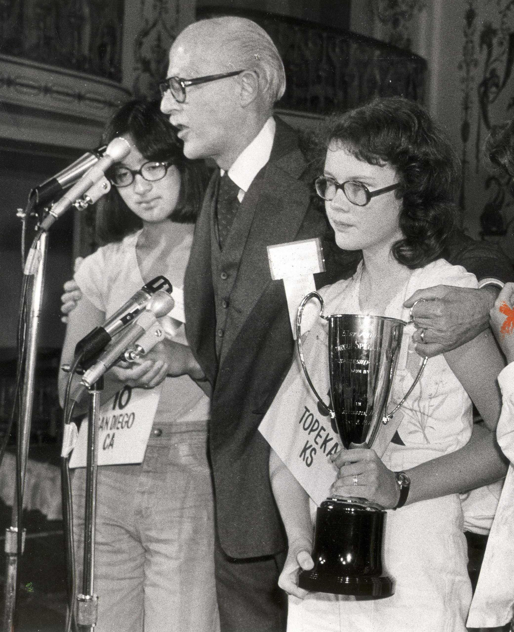 1978 Scripps National Spelling Bee winner Peg McCarthy.