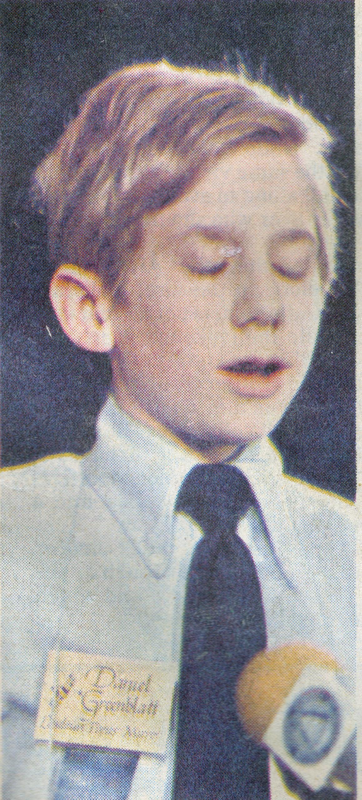1984 Scripps National Spelling Bee champion Daniel Greenblatt.