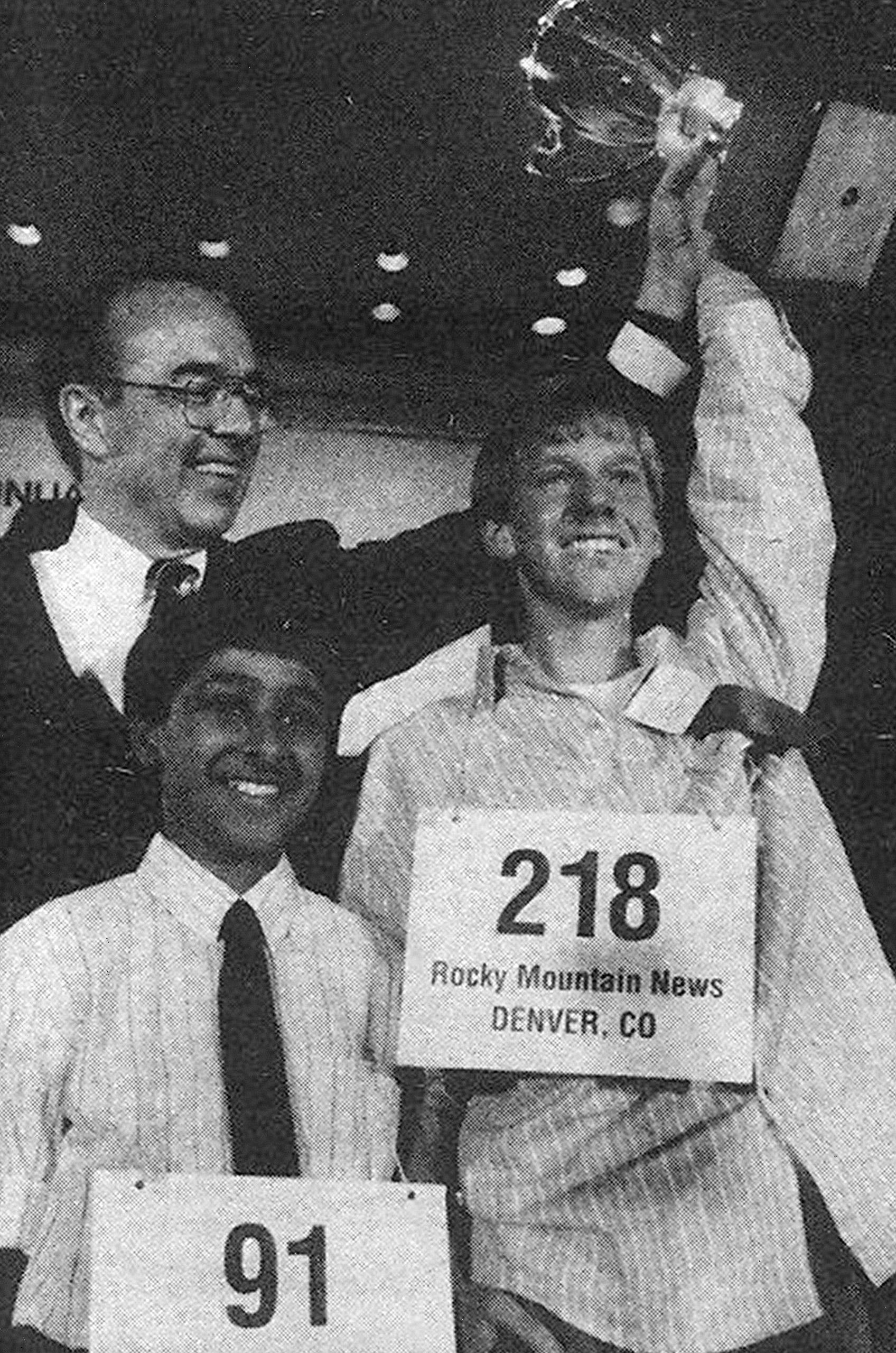 1989 Scripps National Spelling Bee champion Scott Isaacs.