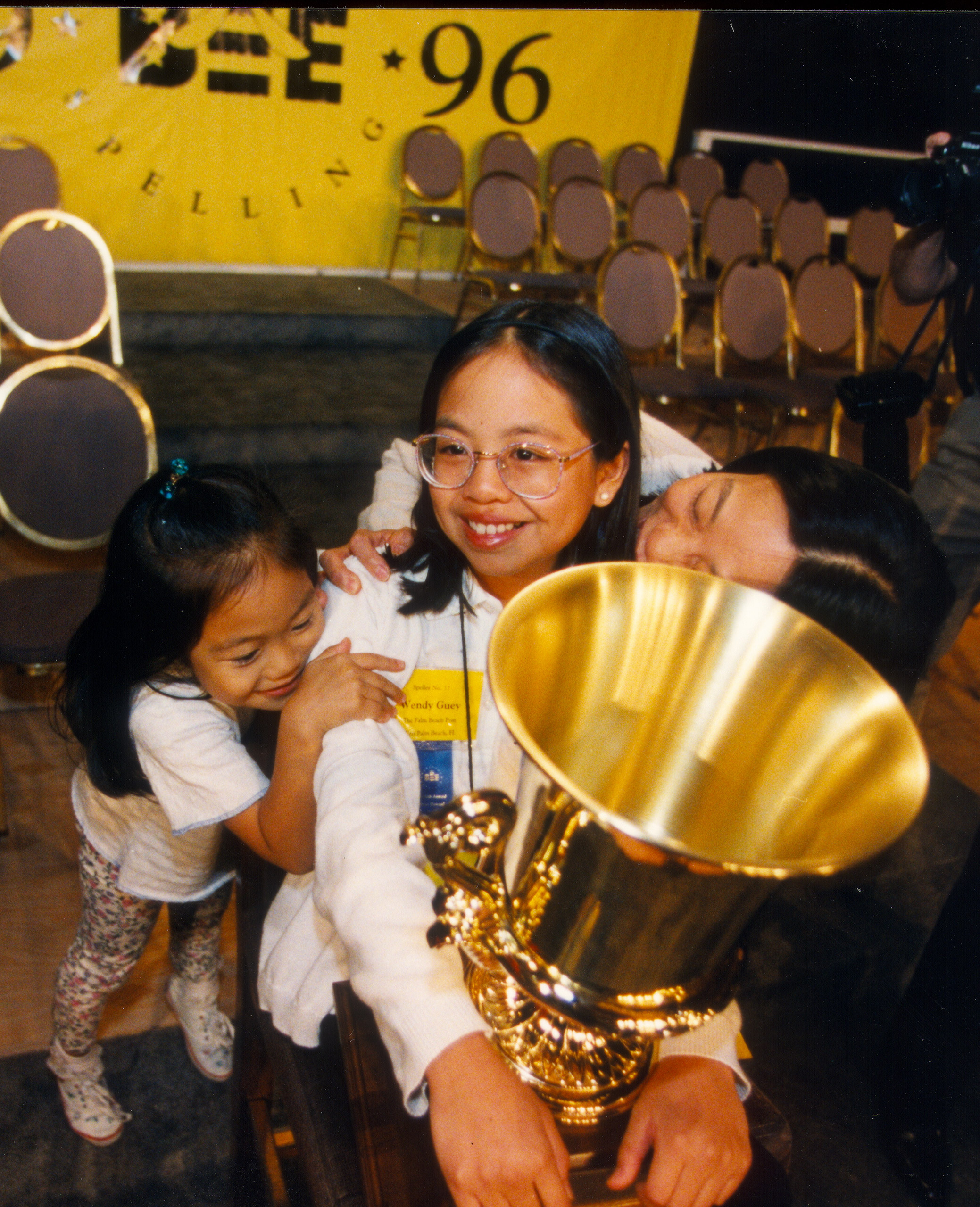 1996 Scripps National Spelling Bee champion Wendy Guey.
