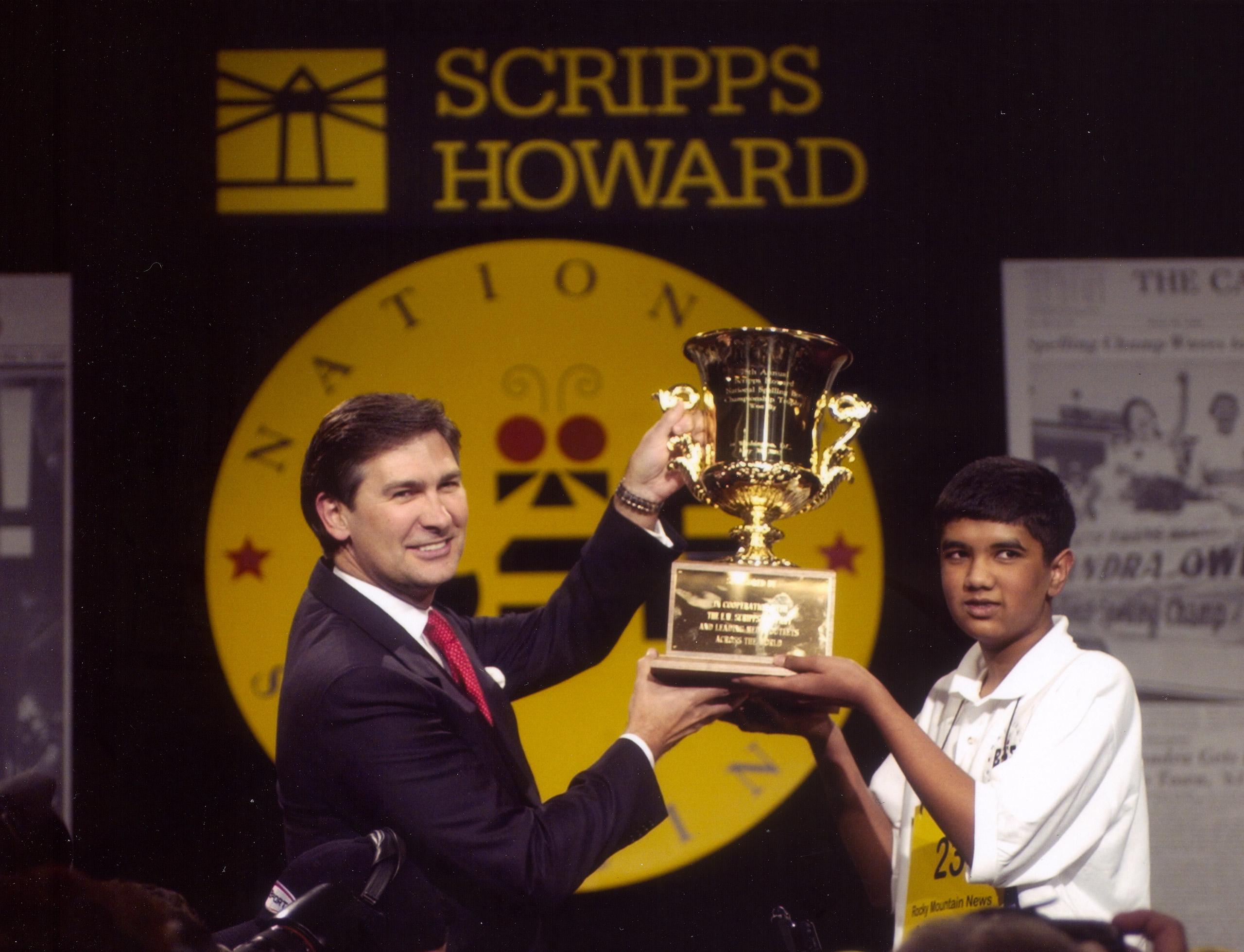 2002 Scripps National Spelling Bee champion Pratyush Buddiga.