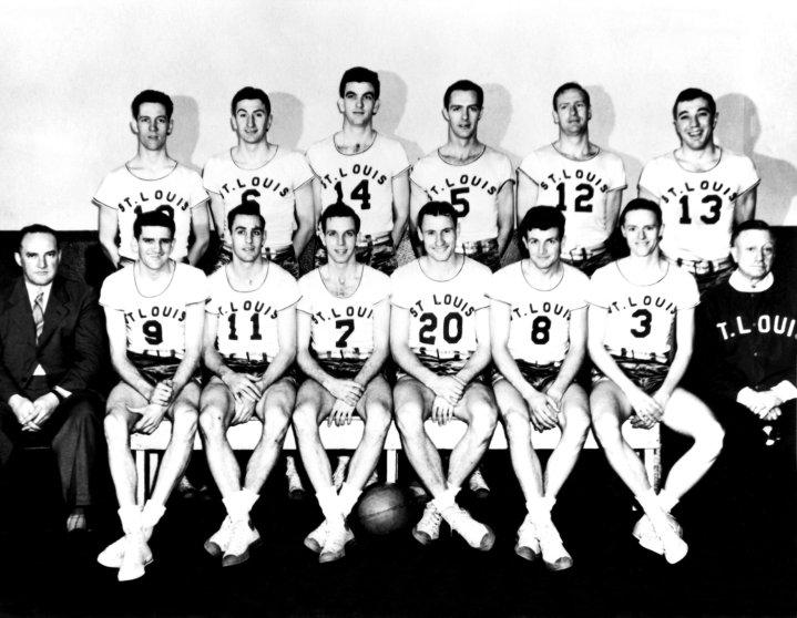 St. Louis Bombers Team Portrait 1945.