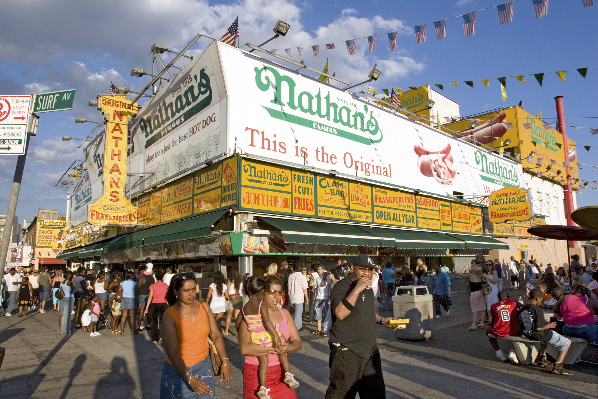 Nathan's Famous Hosts 5 Cent Hot Dog Day Saturday, May 28 | Money