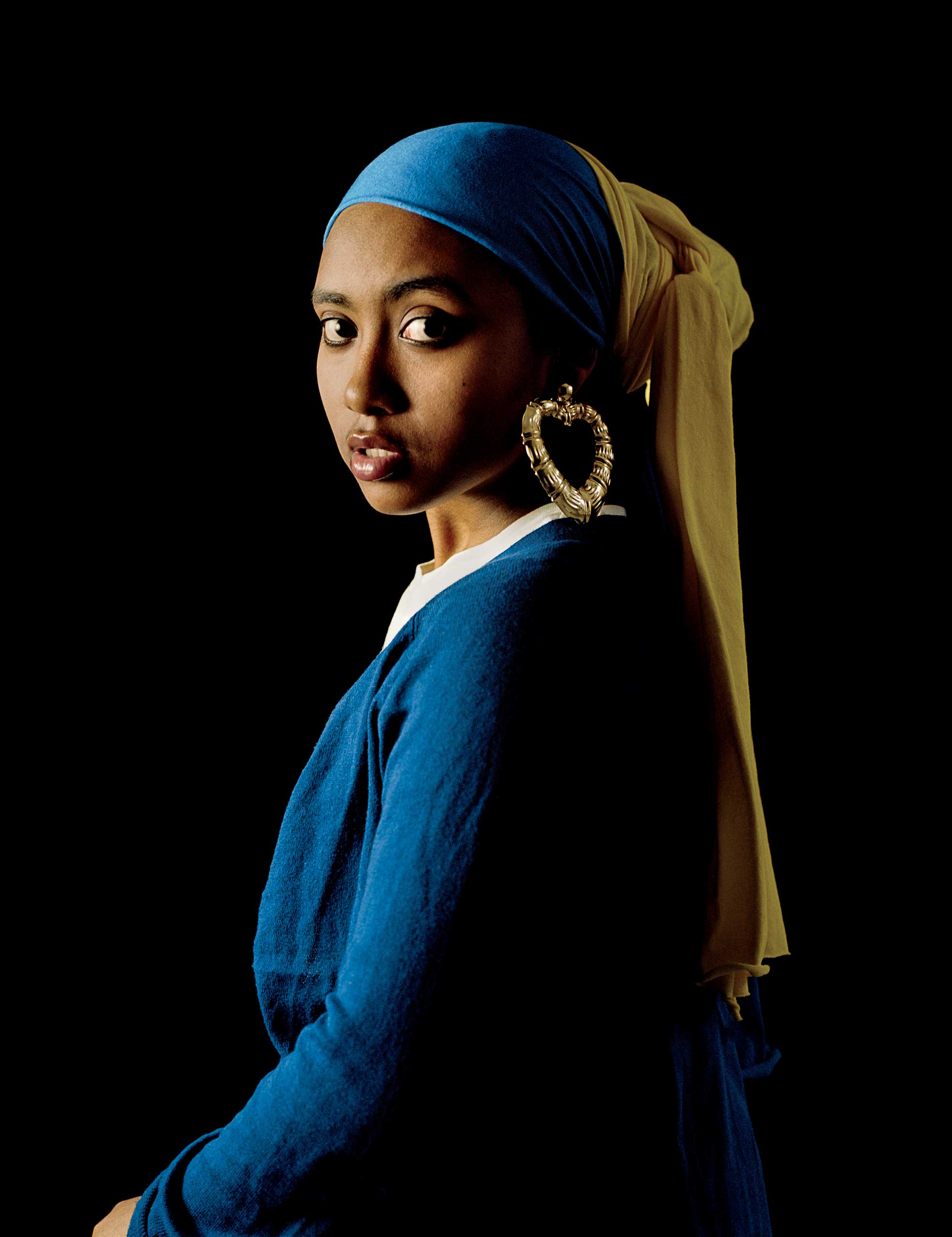 Girl with a Bamboo Earring, 2009