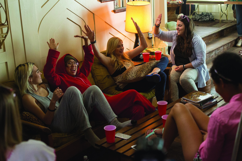 The girls of Kappa Nu in  Neighbors 2: Sorority Rising