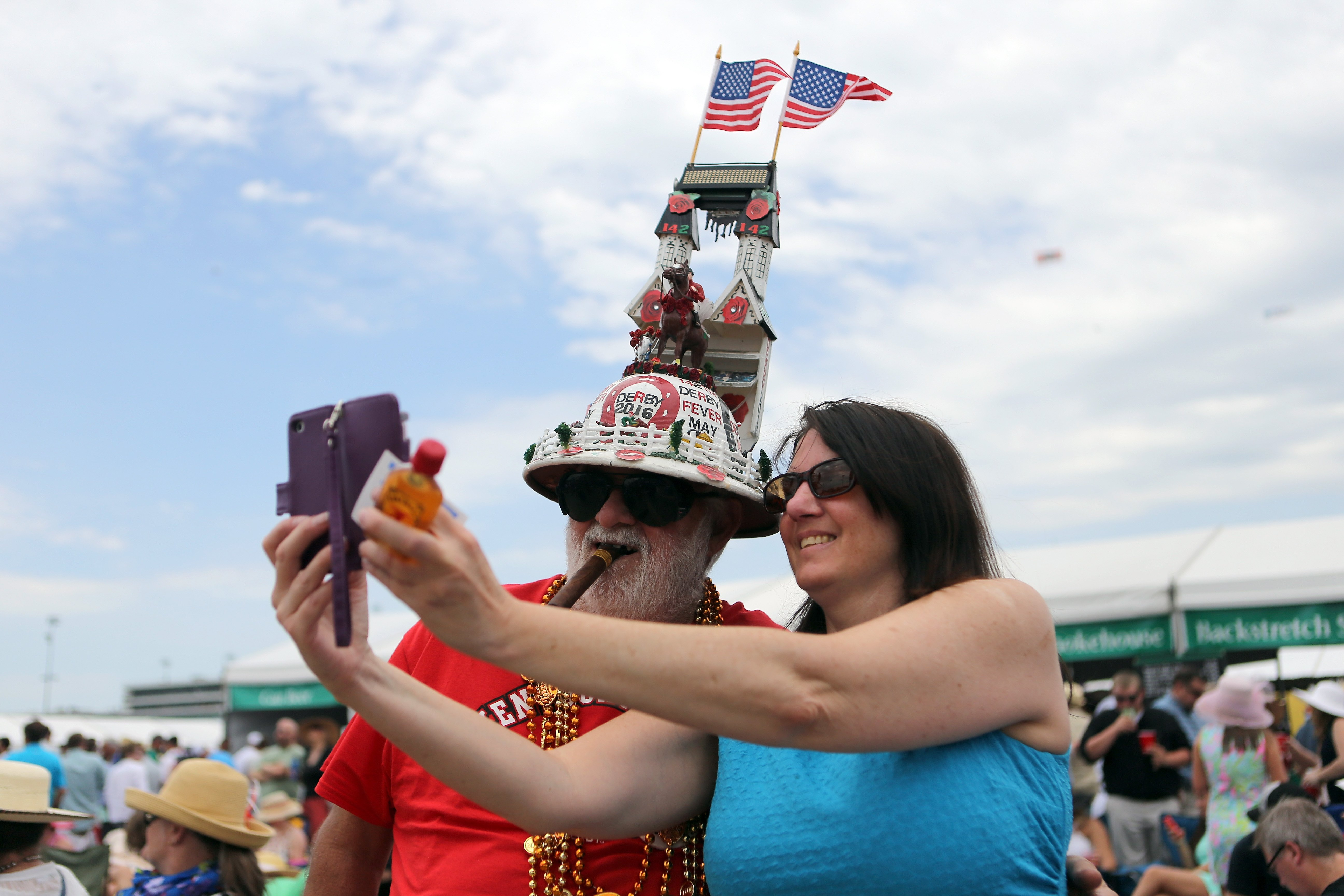 The 142nd running of the Kentucky Oaks horse race at Churchill Downs on May 7, 2016, in Louisville, Ky.