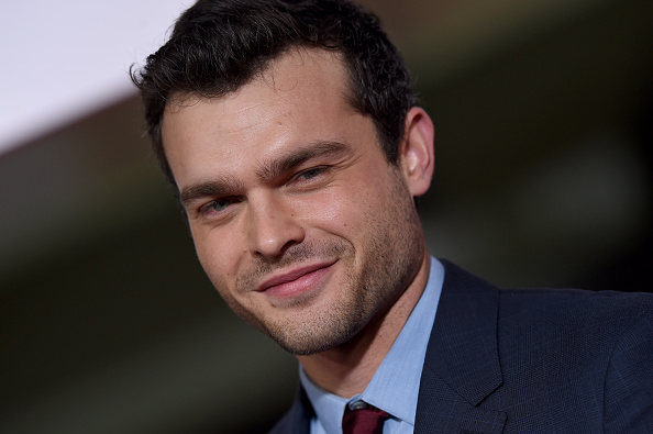 Actor Alden Ehrenreich arrives at the premiere of Universal Pictures' 'Hail, Caesar!' at Regency Village Theatre on February 1, 2016 in Westwood, California.