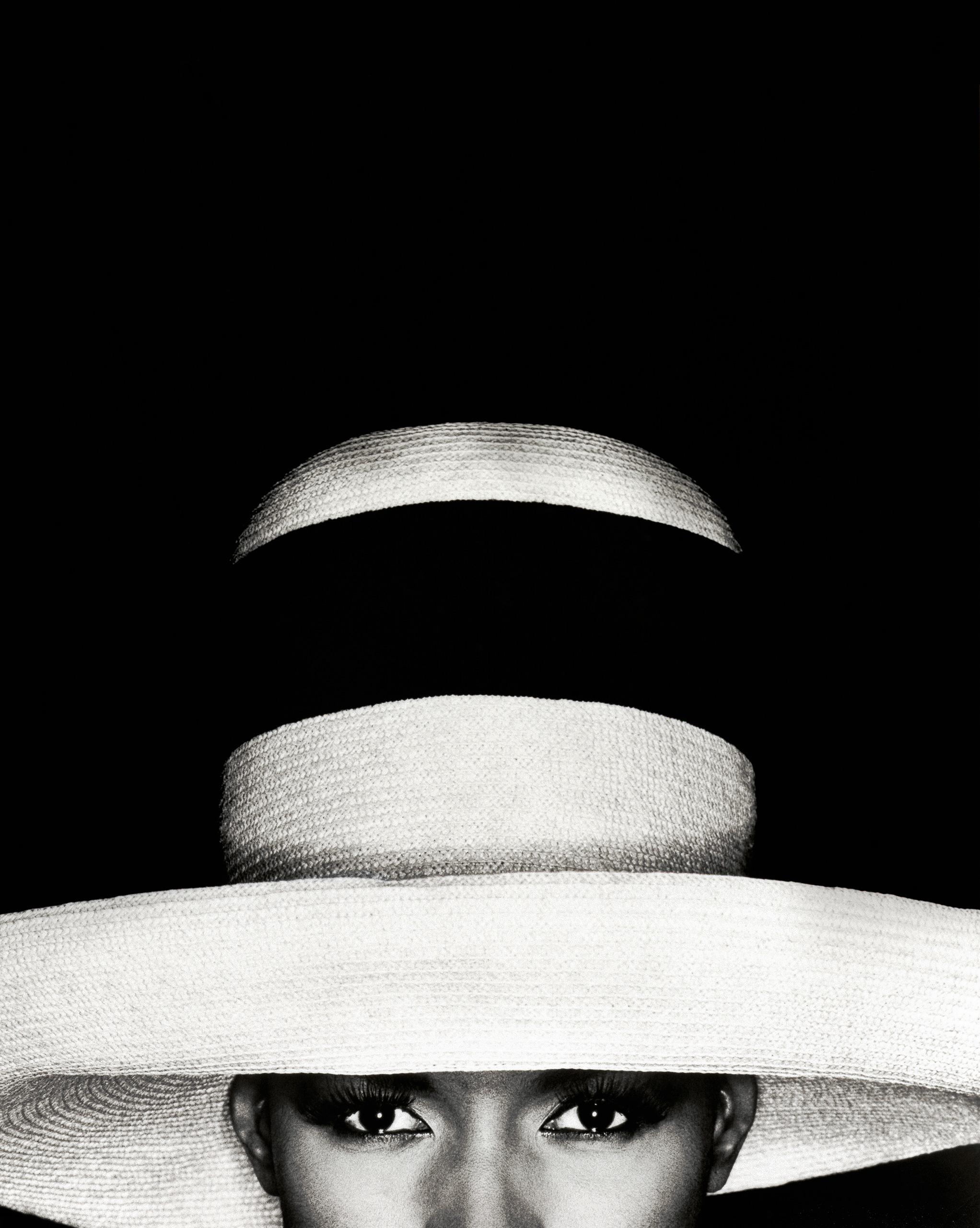 Grace Jones with hat, 1991