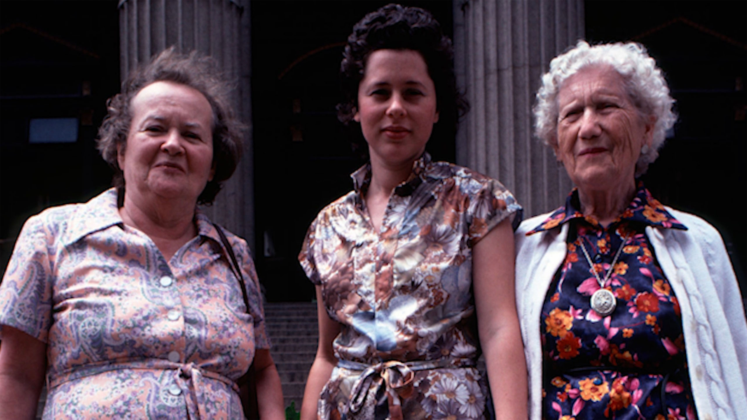Three generations of mothers