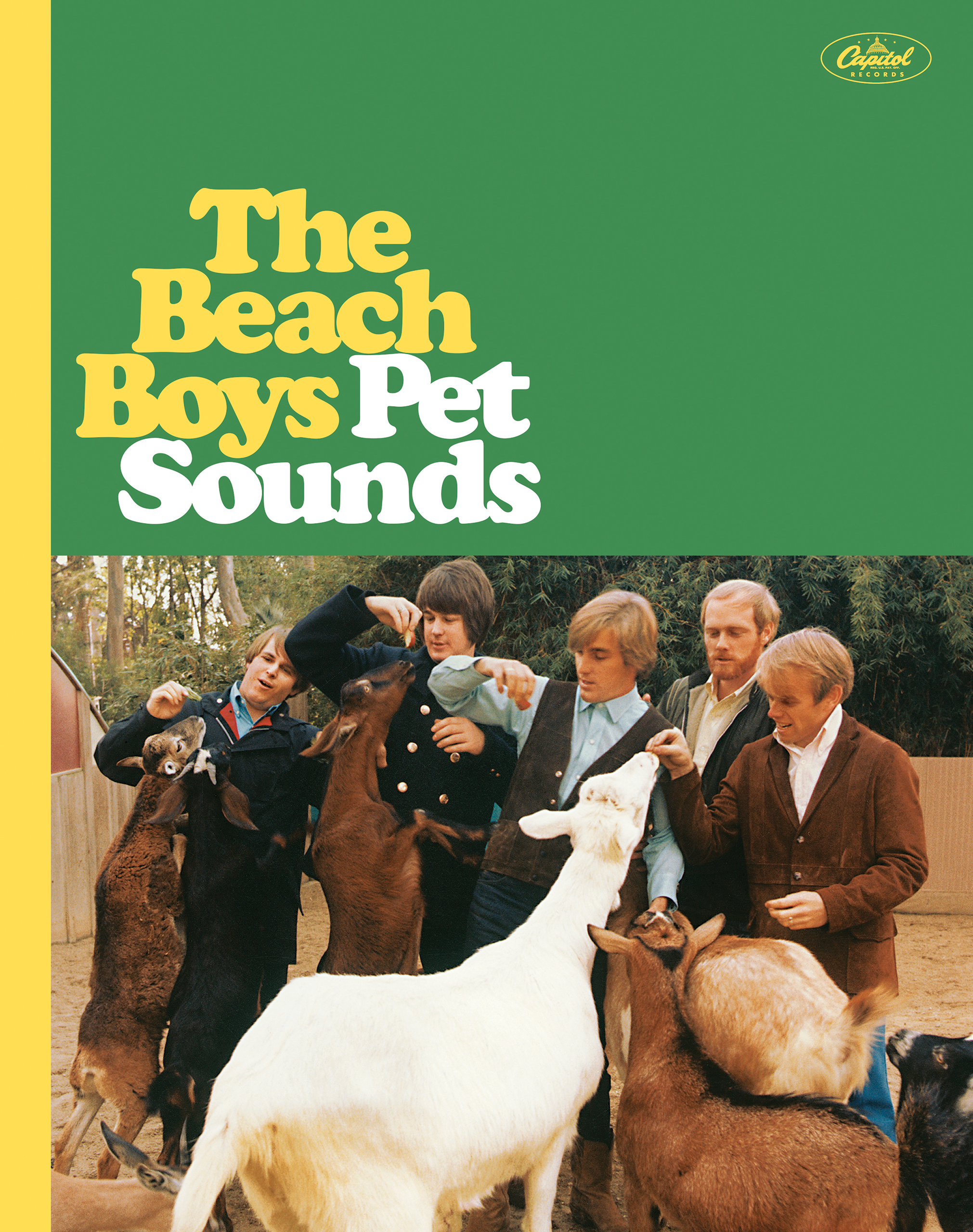 50th Anniversary Collectors Edition cover of Pet Sounds.
