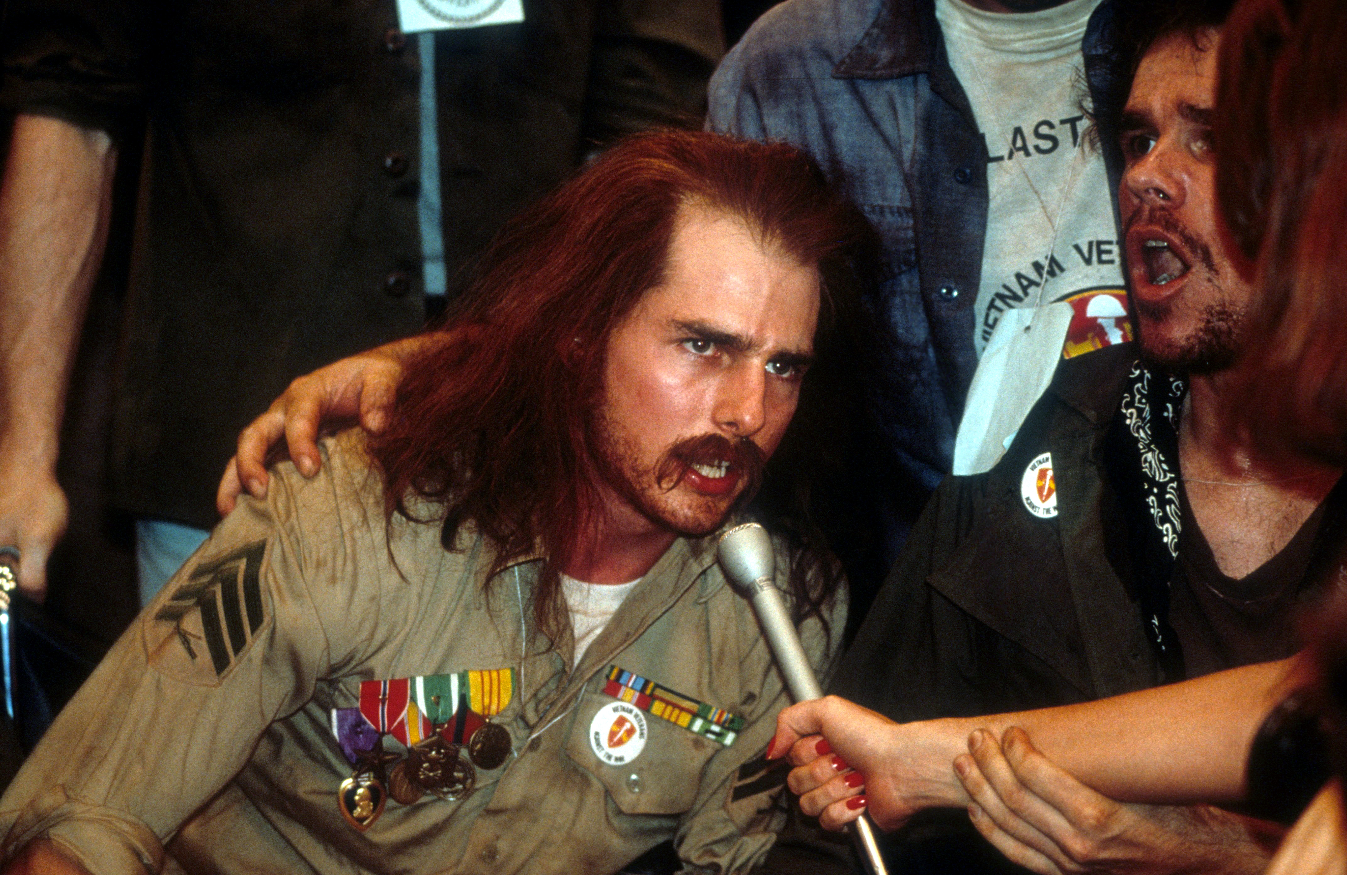 Born on the Fourth of July, Ron Kovic, 1989.