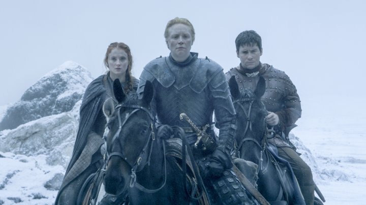 Gwendoline Christie as Brienne of Tarth in HBO's Game of Thrones