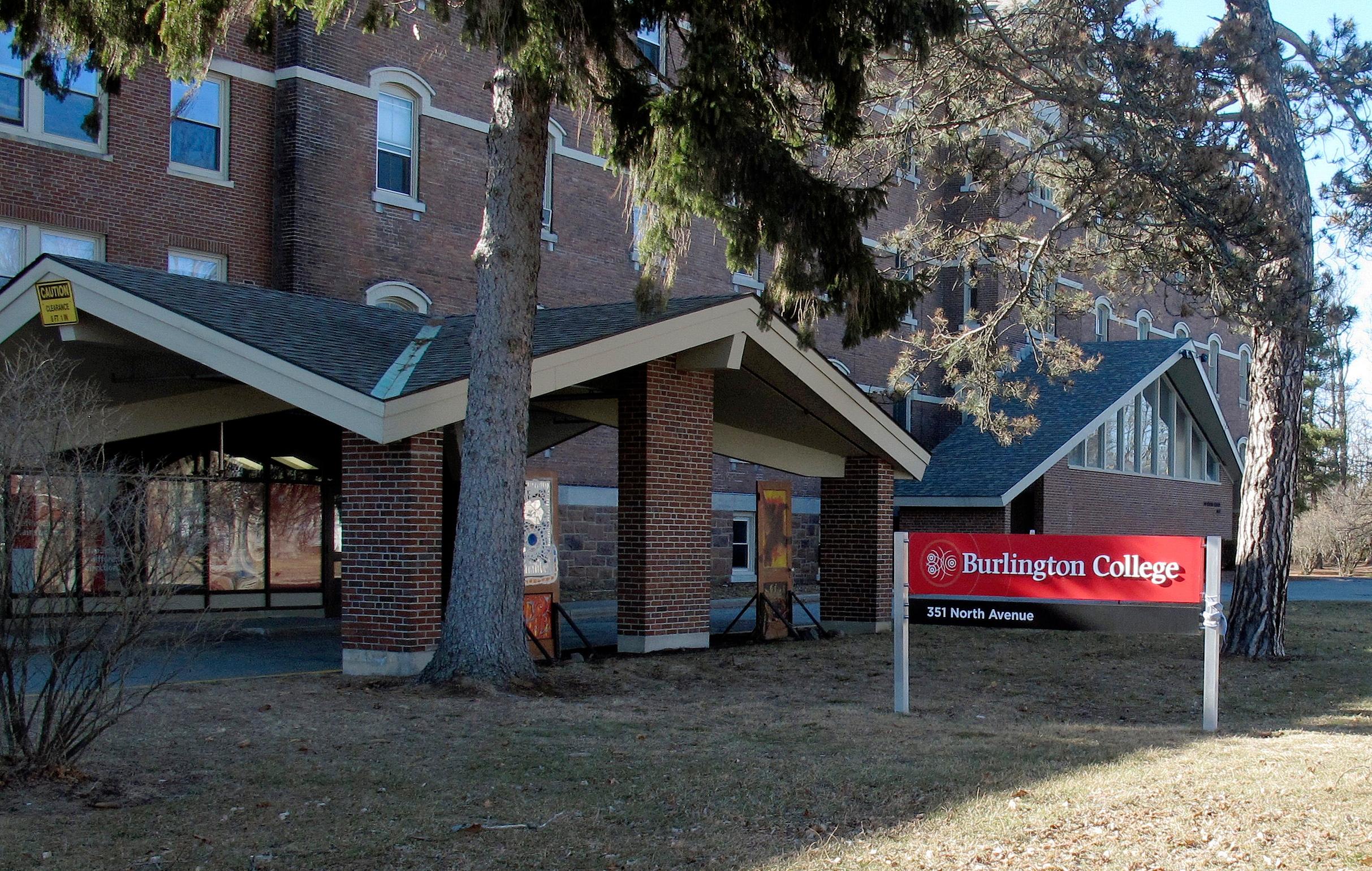 A building on the campus of Burlington College in Burlington, Vt., on Feb. 22, 2015.