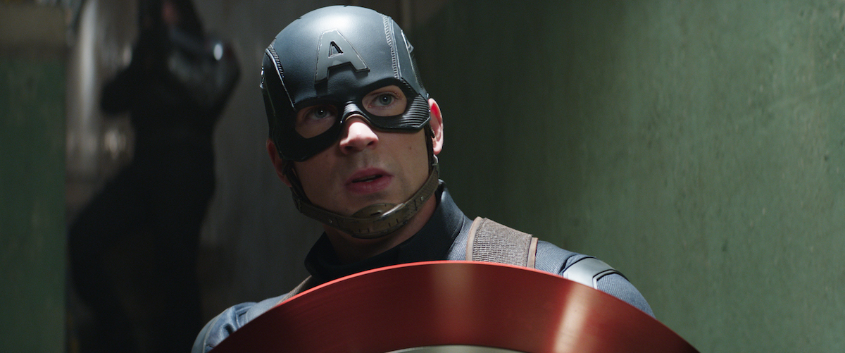 Chris Evans in Marvel's 'Captain America: Civil War'