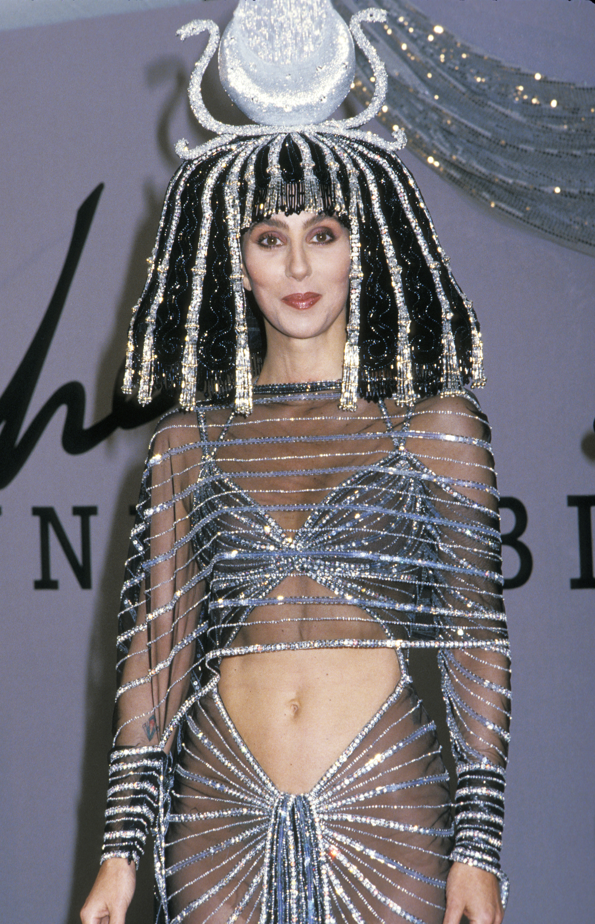 Cher at Bob Mackie's 1988 Halloween Party in Century City, Calif. on Oct. 31, 1988.