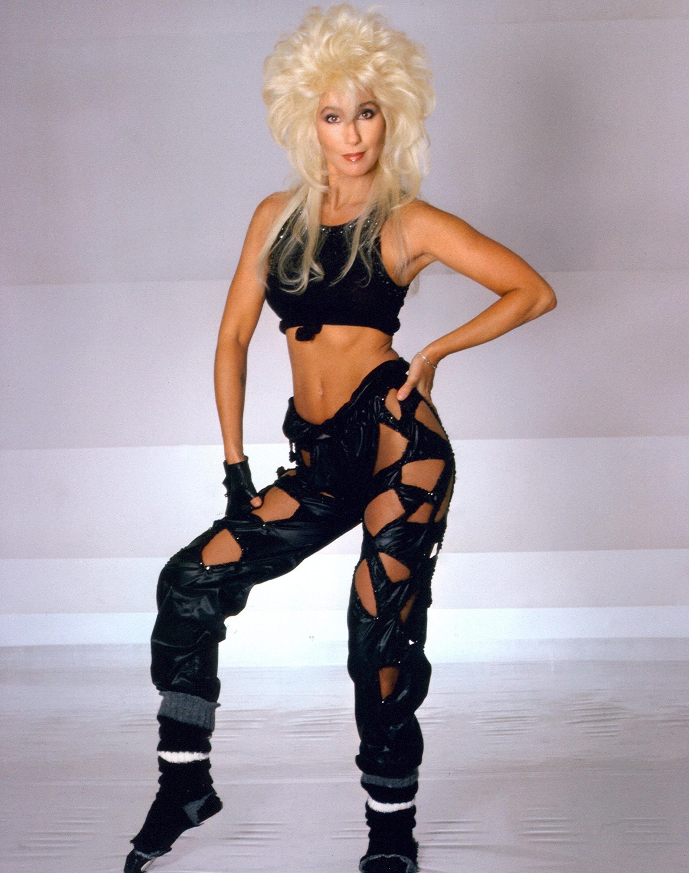 Cher in Los Angeles in Jan. 1984.