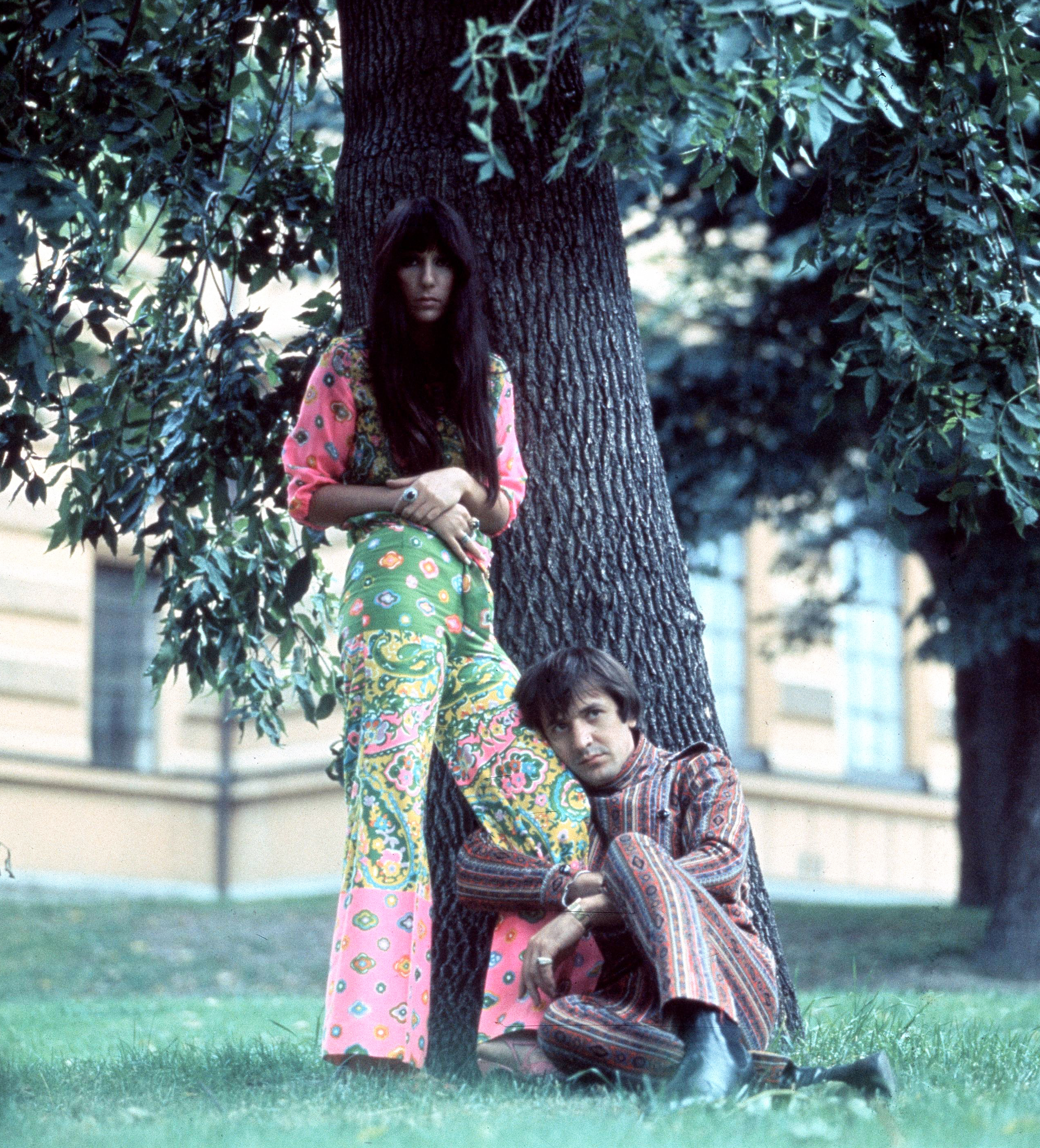 Cher and Sonny Bono in the mid-1960s.