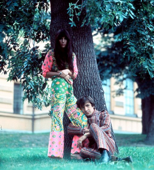 Sonny & Cher in the mid-1960s.
