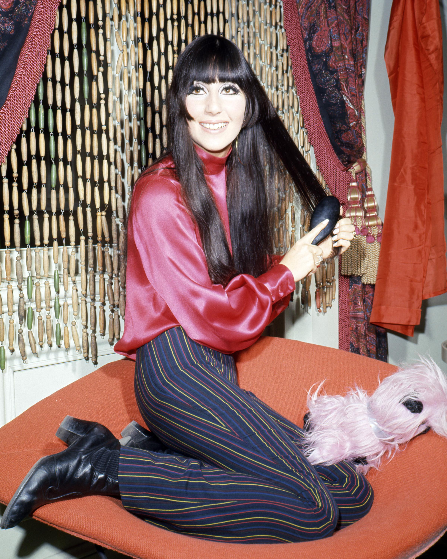 Cher in 1968.