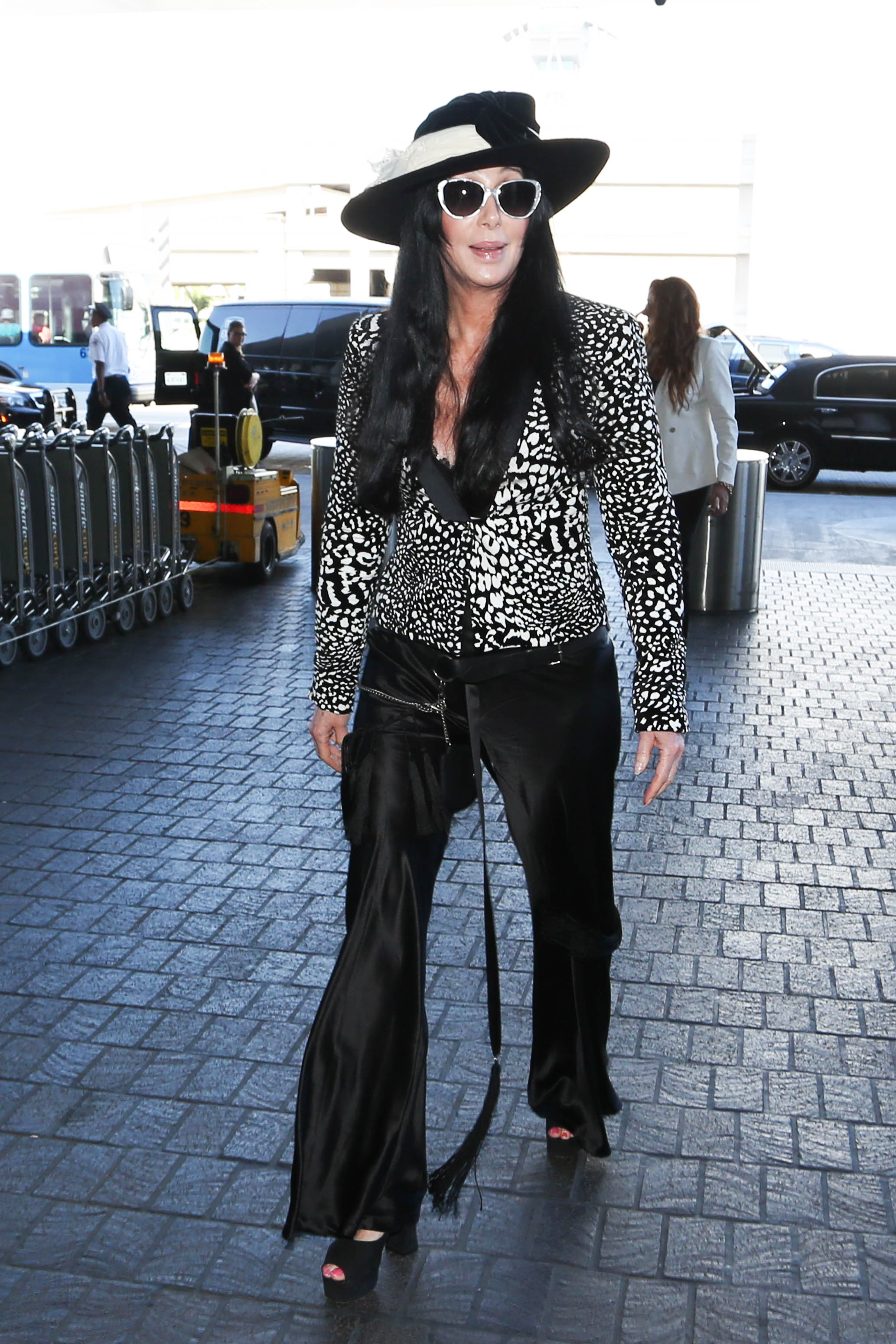 Cher in Los Angeles on Aug. 23, 2015.