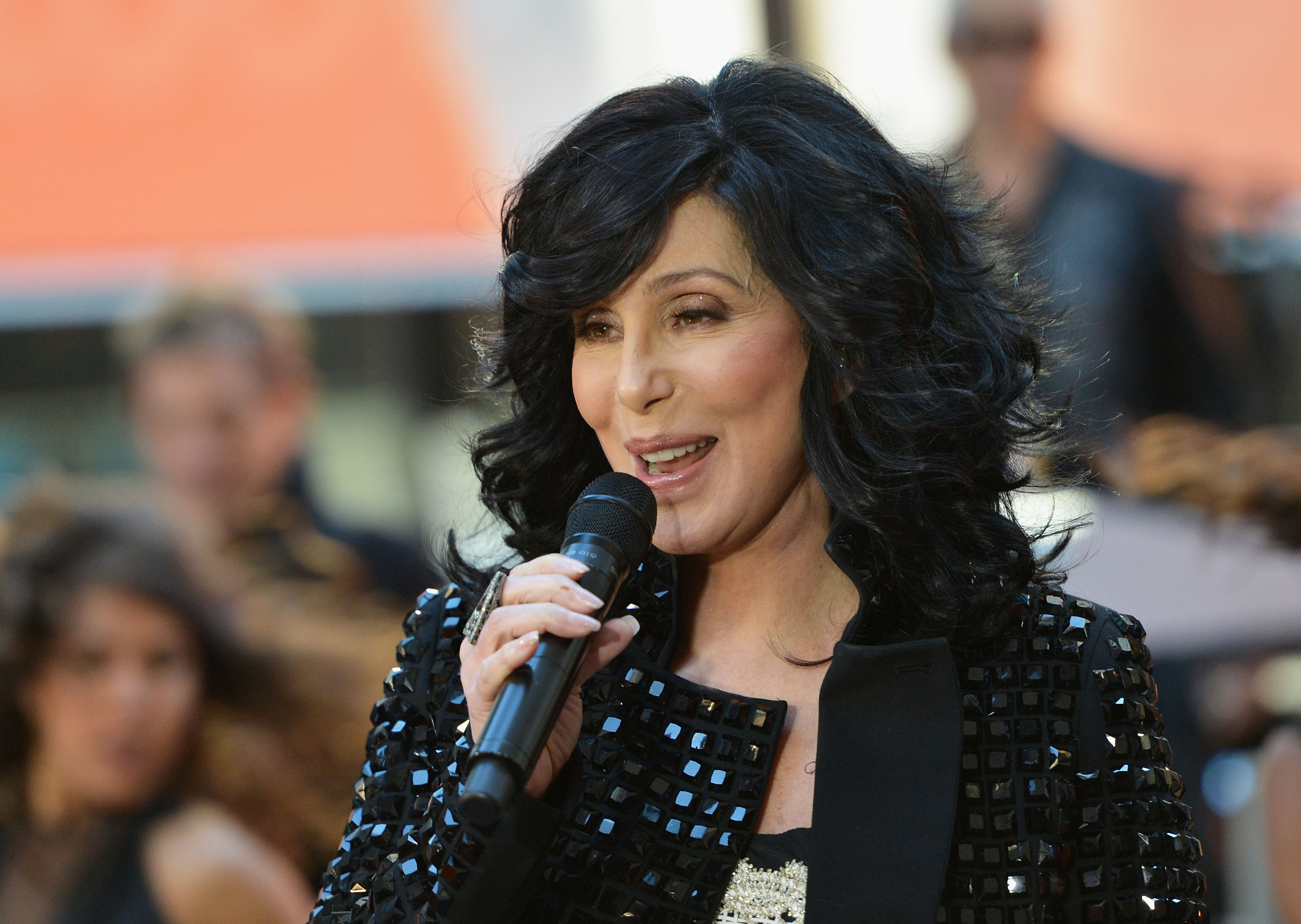 Singer Cher peforms on NBC's  Today  at NBC's TODAY Show in New York City on Sept. 23, 2013.