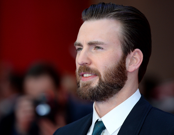 Chris Evans attends the European premiere of 'Captain America: Civil War' at Vue Westfield on April 26, 2016 in London, England.
