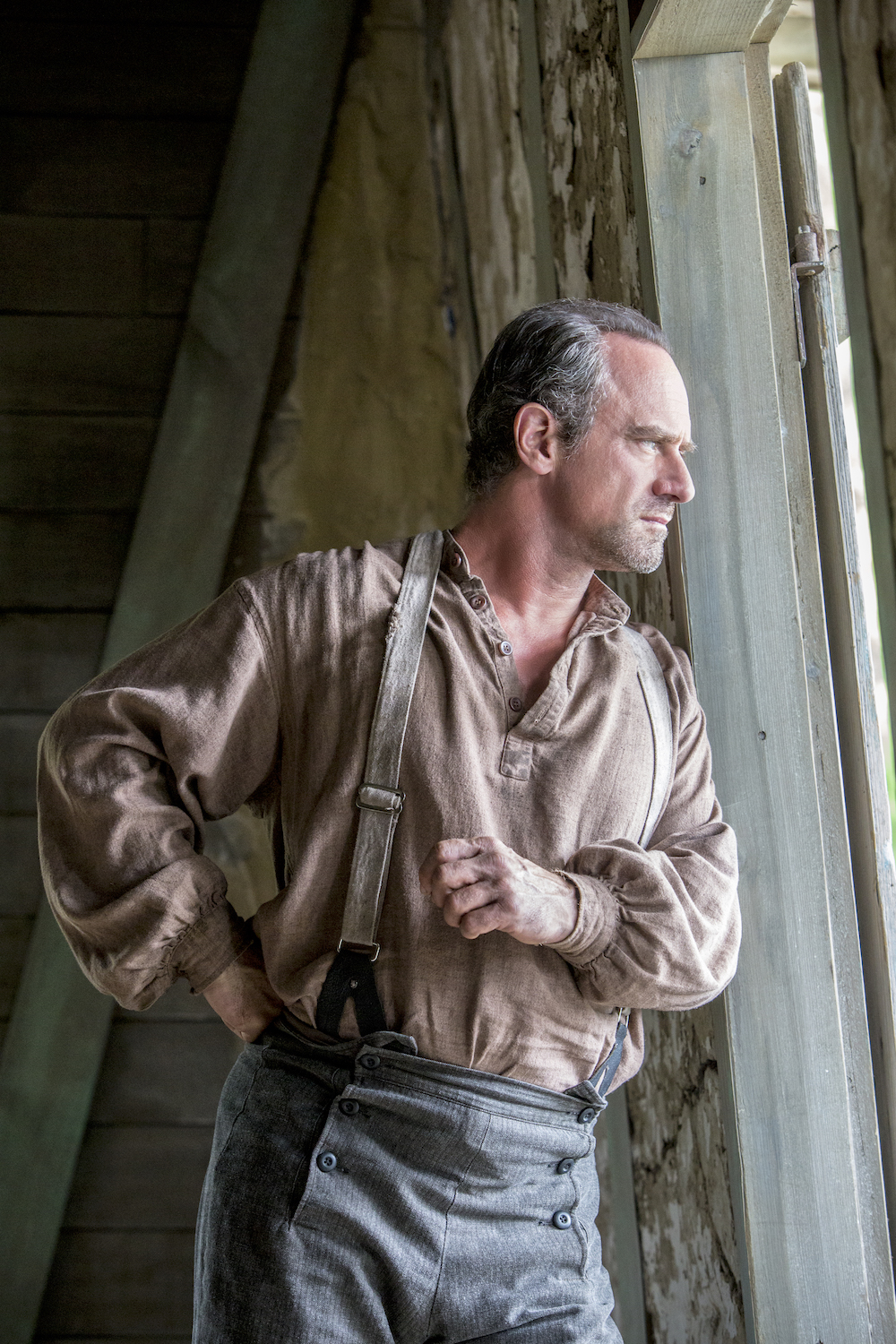 Christopher Meloni as August Pullman in  Underground.
