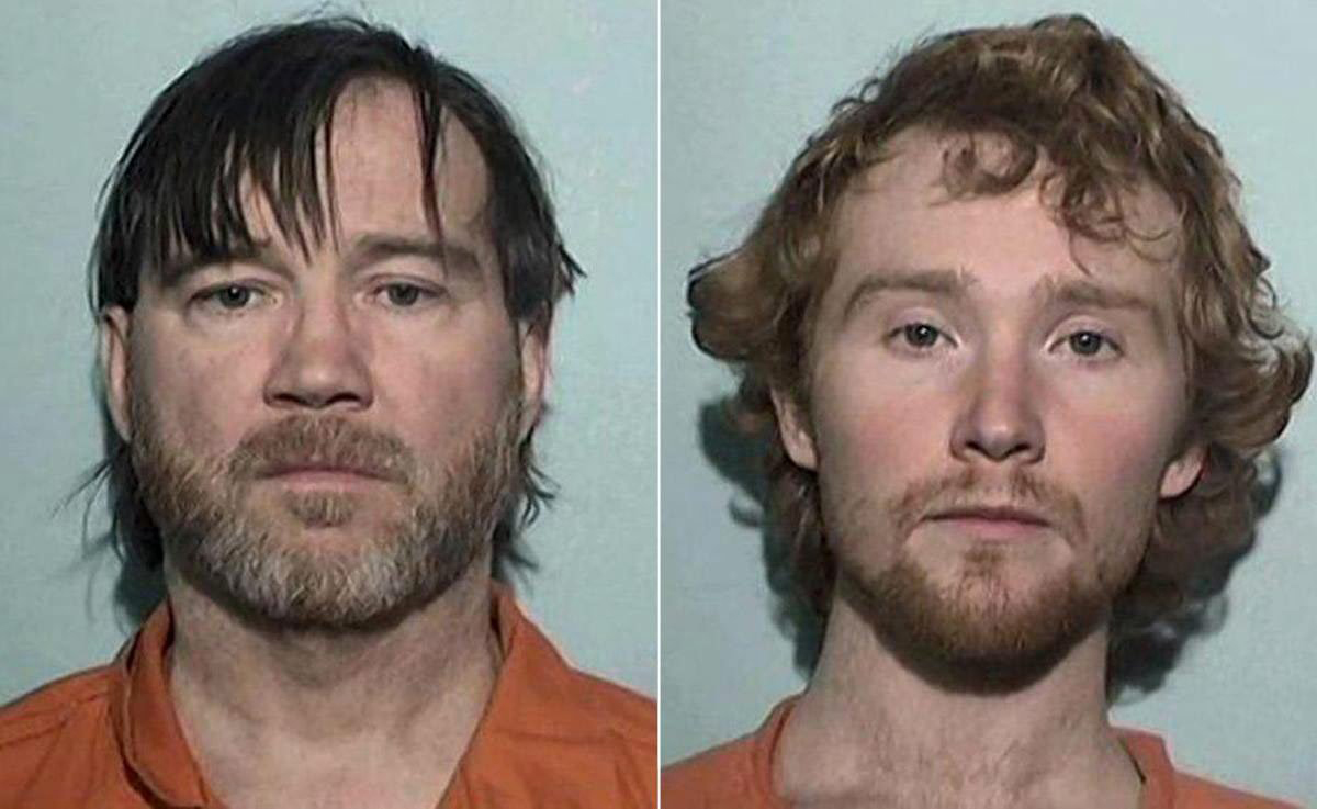 Timothy Ciboro (left) and Esten Ciboro at Lucas County Jail in Toledo, Oh., in a mugshot provided on May 20, 2016.