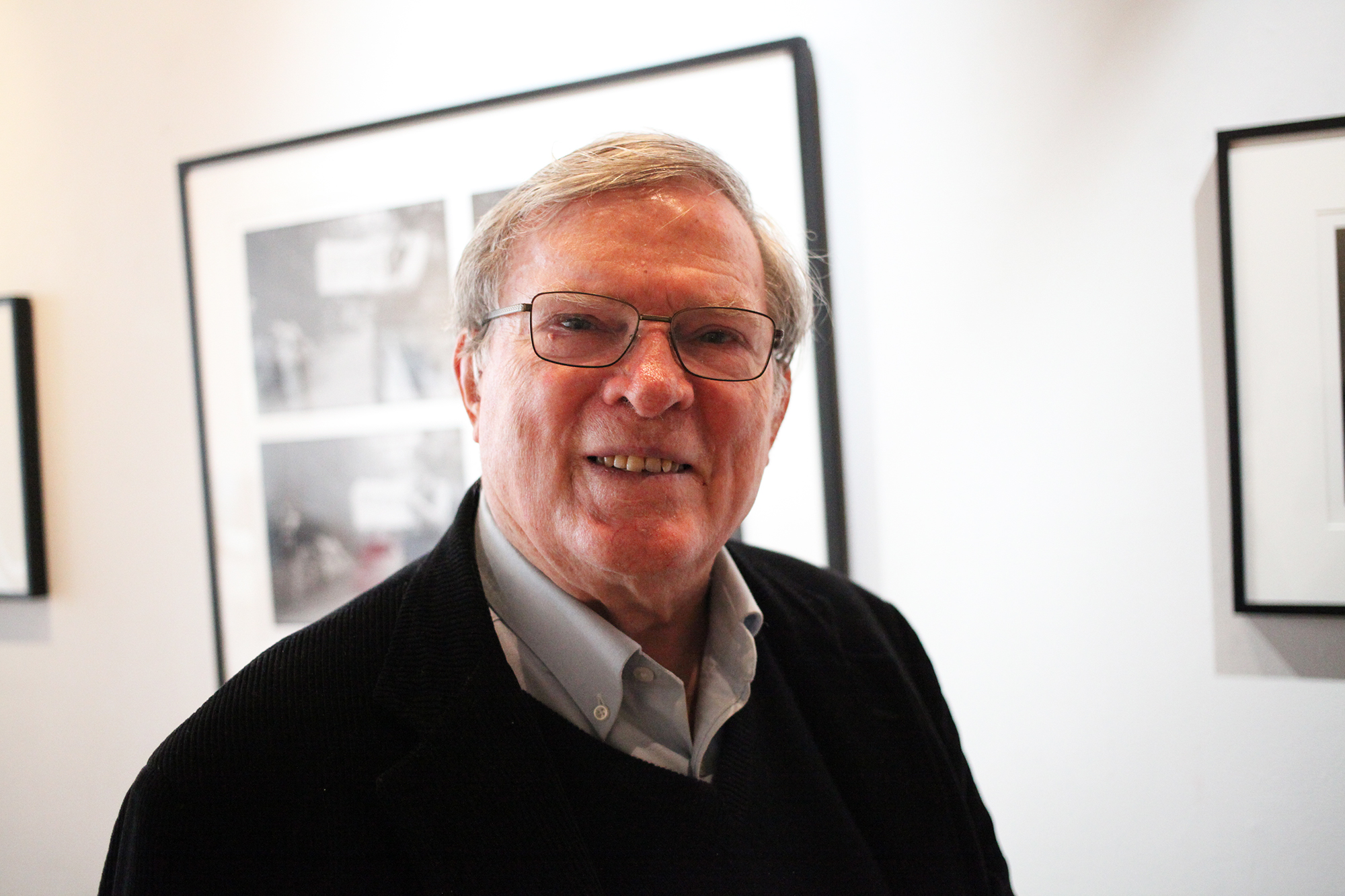 D.A. Pennebaker in New York City on May 19, 2016. Kenneth Bachor for TIME