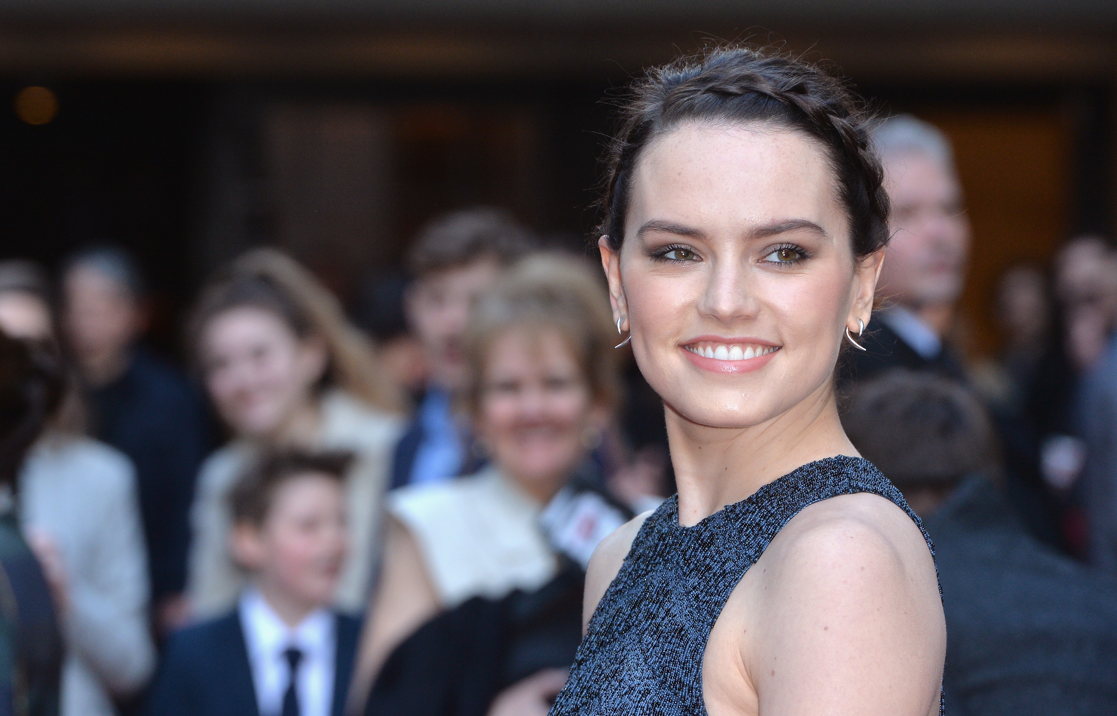 Daisy Ridley attends the Jameson Empire Awards in London, on March 20, 2016.