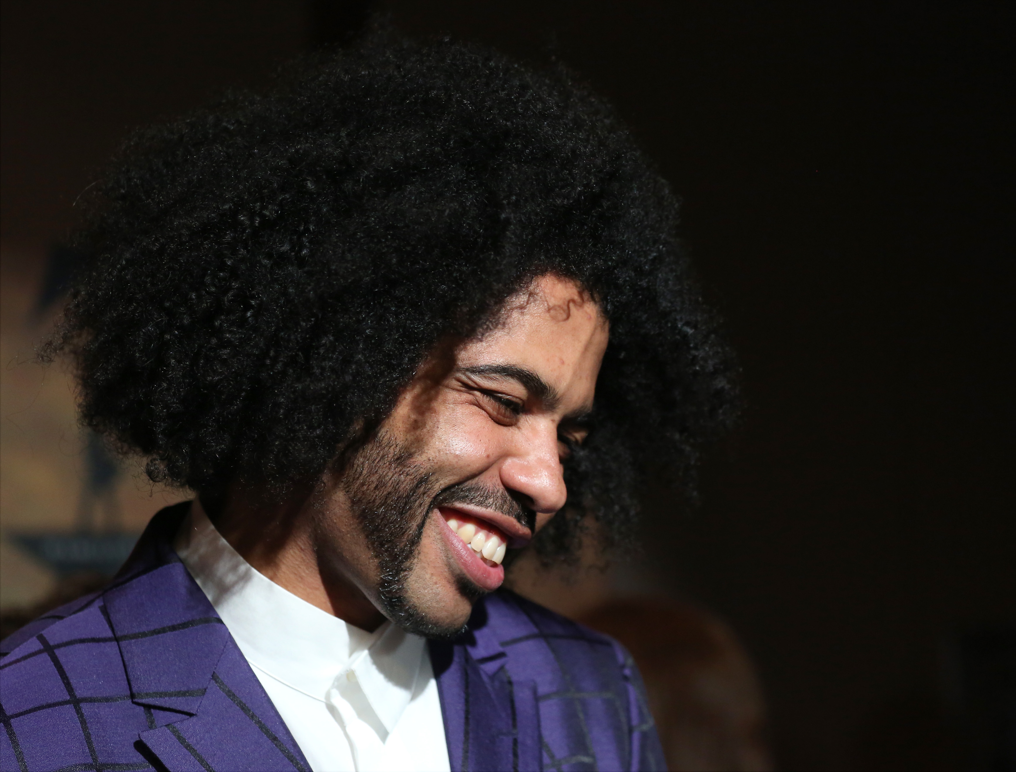 Daveed Diggs attends the 'Hamilton' Broadway Opening Night in New York City, on August 6, 2015.