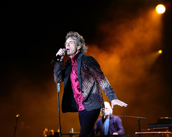 Mick Jagger performs with the Rolling Stones at Ciudad Deportiva on March 25, 2016 in Havana, Cuba.