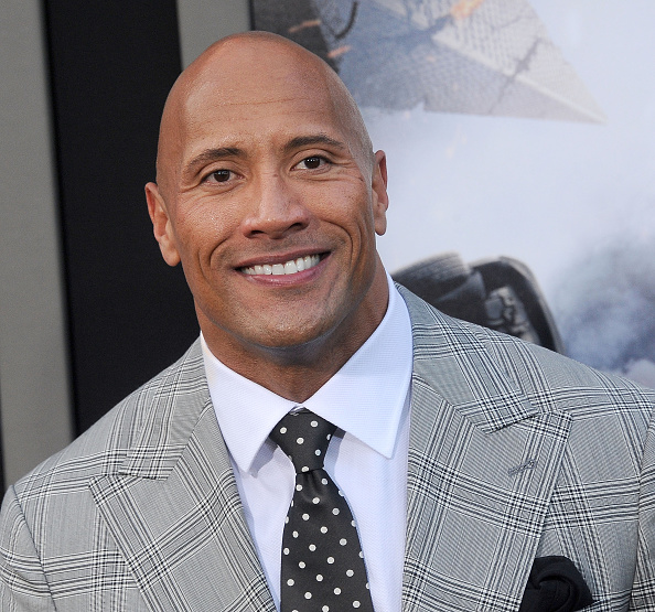 Actor Dwayne Johnson arrives at the Los Angeles premiere of 'San Andreas' at TCL Chinese Theatre IMAX on May 26, 2015 in Hollywood, California.