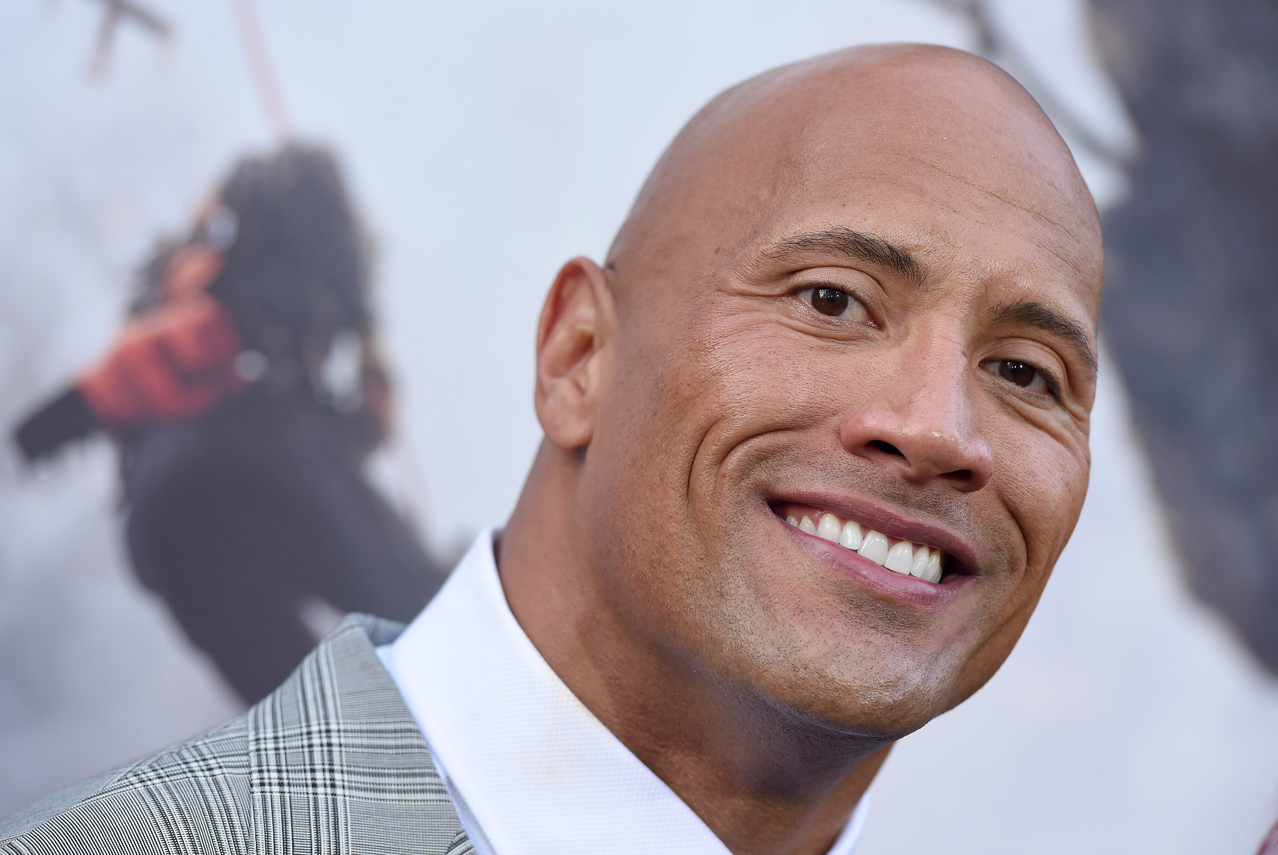 Dwayne 'The Rock' Johnson in Hollywood, Calif., May 26, 2015