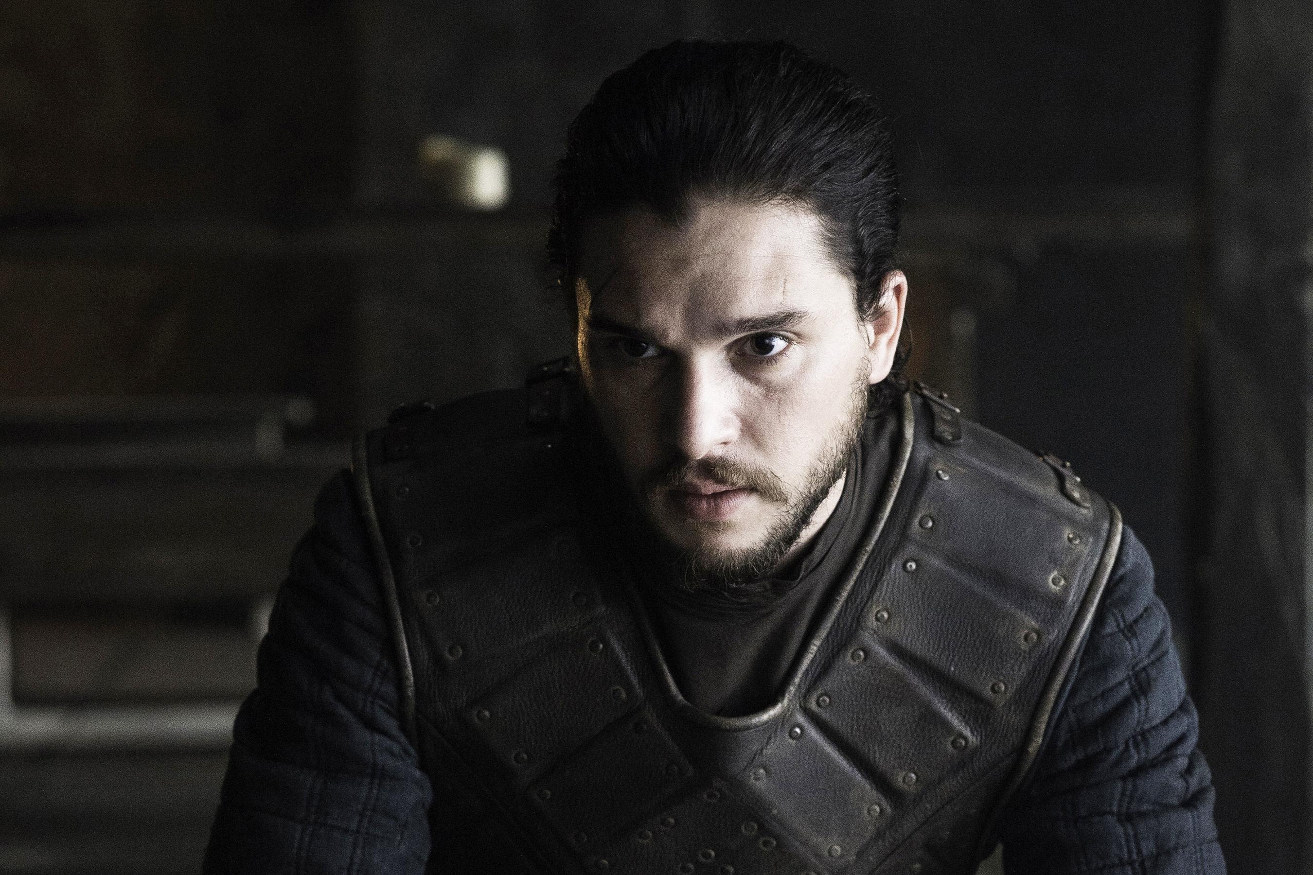 Kit Harington in Game of Thrones, season 6, episode 5.