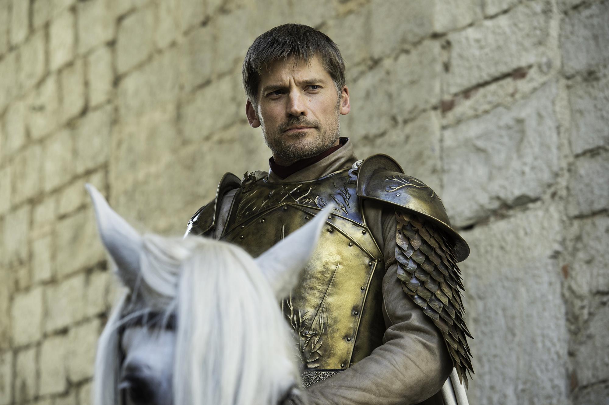 Nikolaj Coster-Waldau in Game of Thrones, season 6, episode 6.